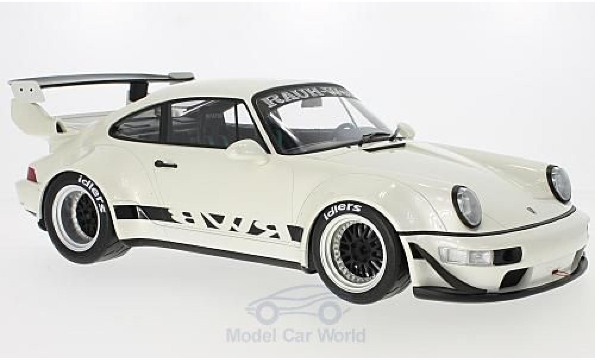 Porsche 964 RWB 1/12 GT Spirit 911  blanche