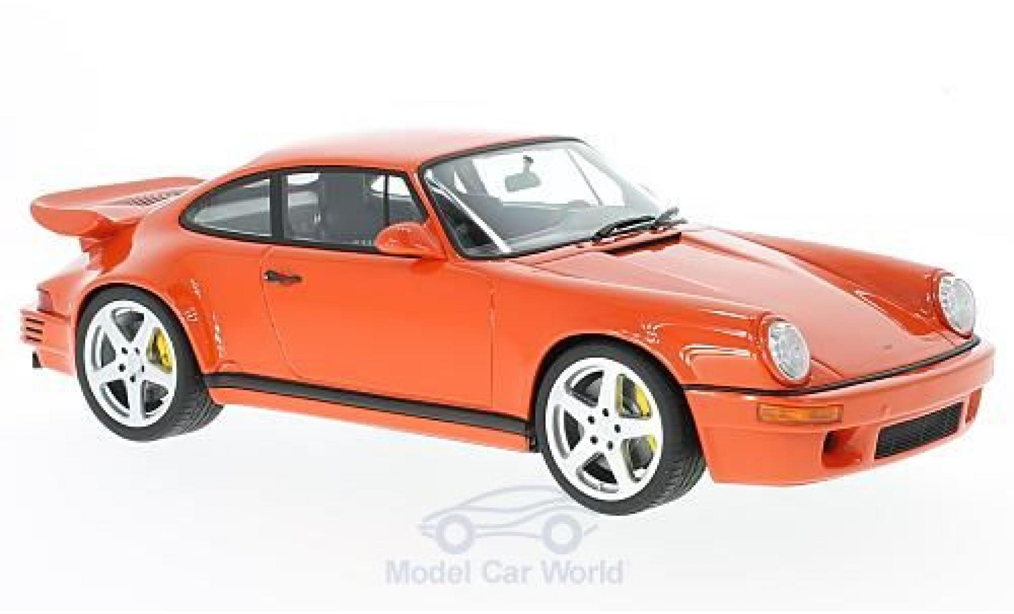 Porsche 964 SC 1/18 GT Spirit (964) SCR 4.2 RUF dunkelorange