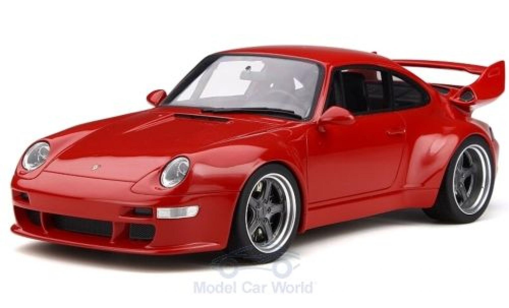 Porsche 993 SC 1/18 GT Spirit 911  Gunther Werks 400R rouge