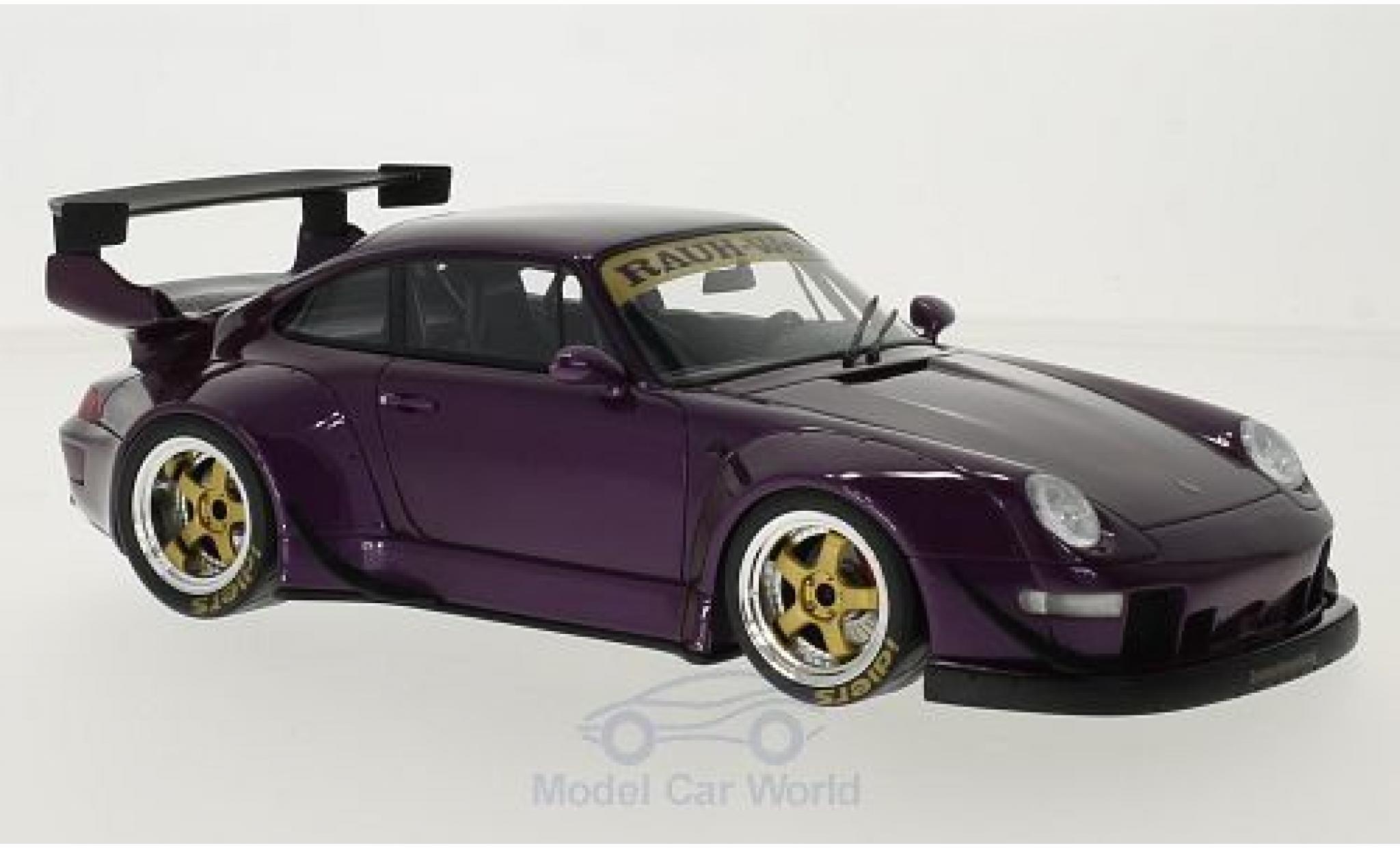 Porsche 993 SC 1/18 GT Spirit (993) RWB metallic-porpora