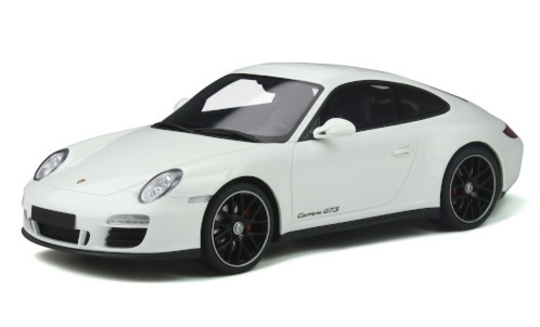 Porsche 997 GTS 1/18 GT Spirit 911 Carrera (.2) blanche 2011