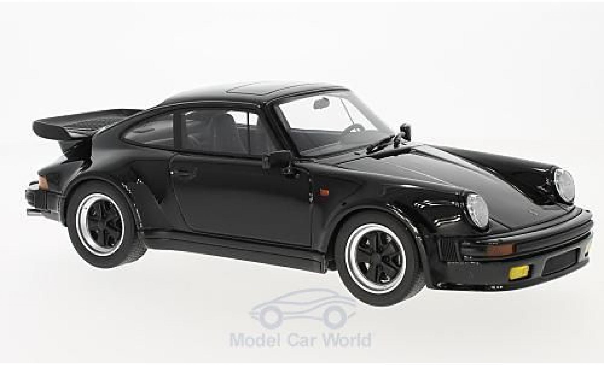 Porsche 911 Turbo 1/18 GT Spirit S noire
