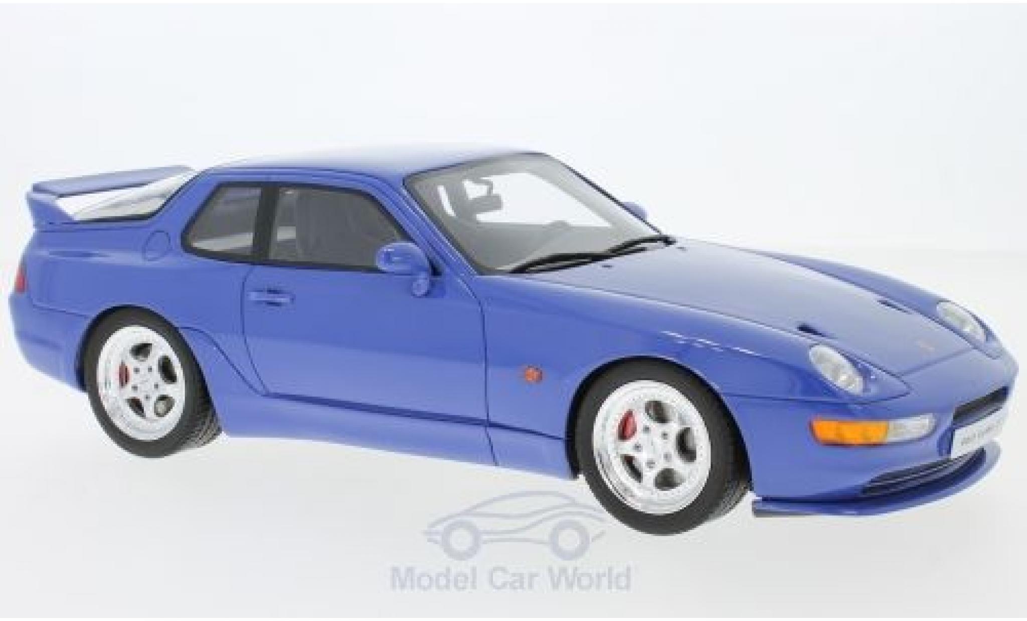 Porsche 968 1/18 GT Spirit Turbo S bleue