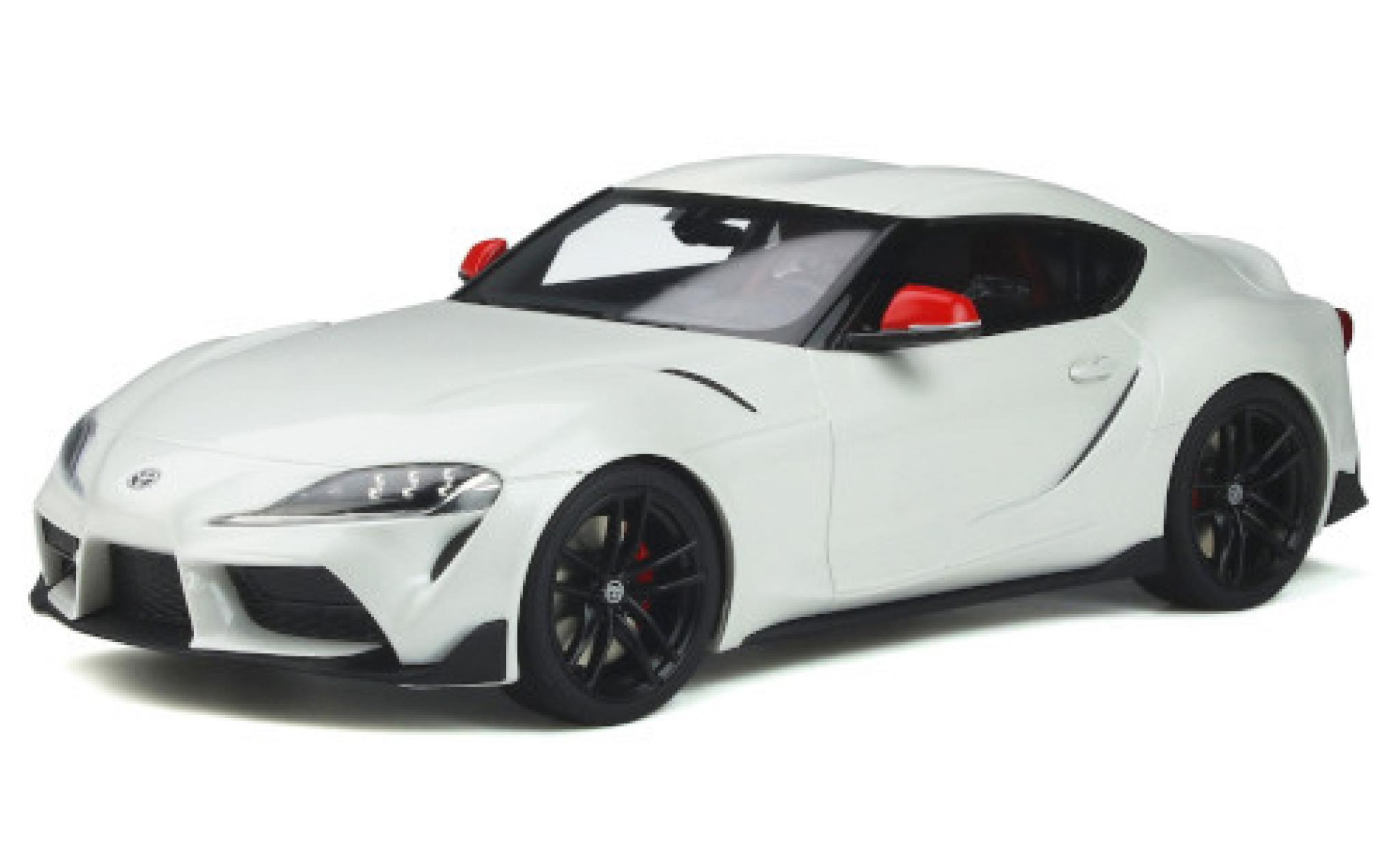 Toyota Supra 1/18 GT Spirit GR Fuji Speedway Edition white 2020
