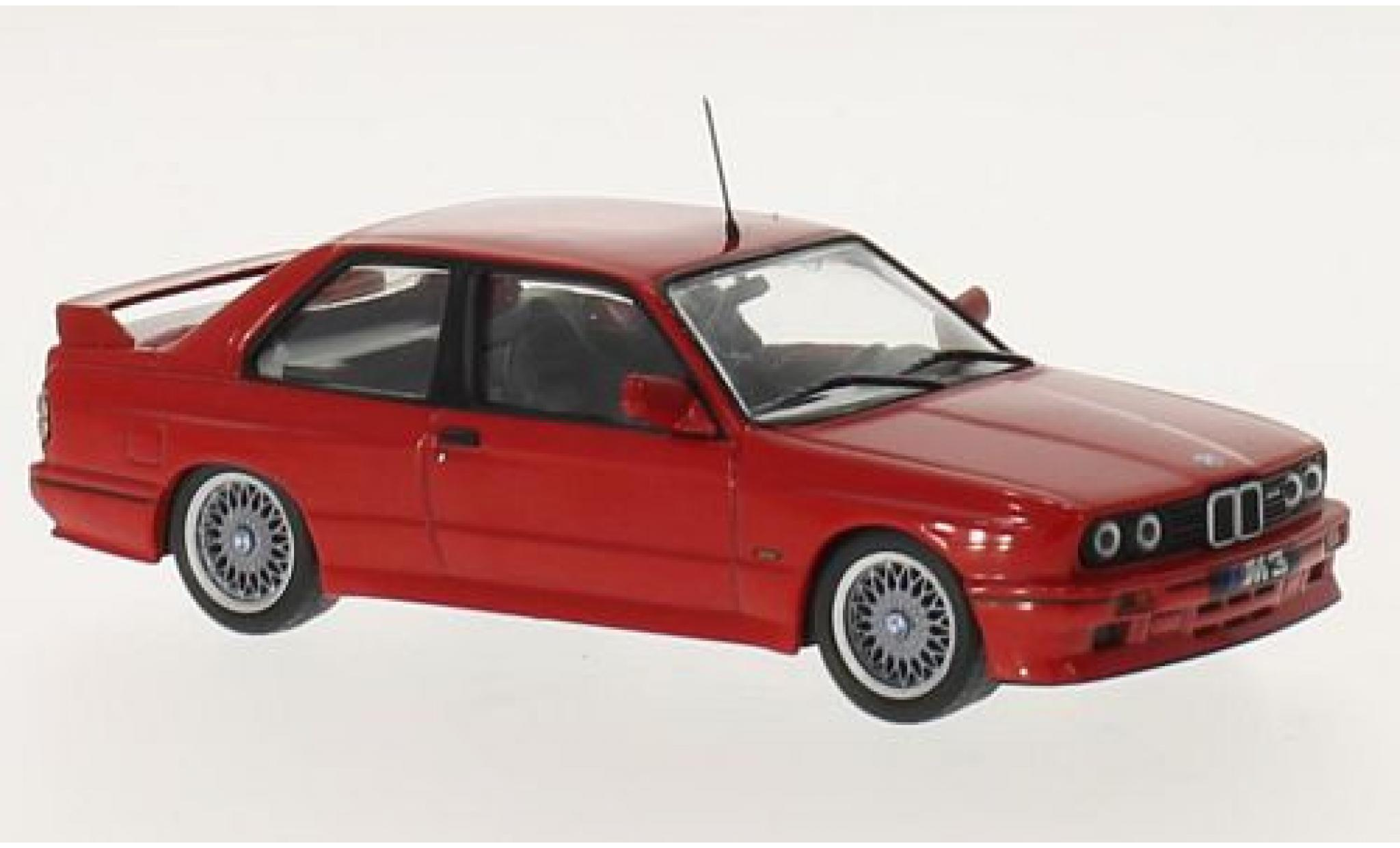 Bmw M3 1/43 GTI Collection (E30) Sport Evolution rouge 1989