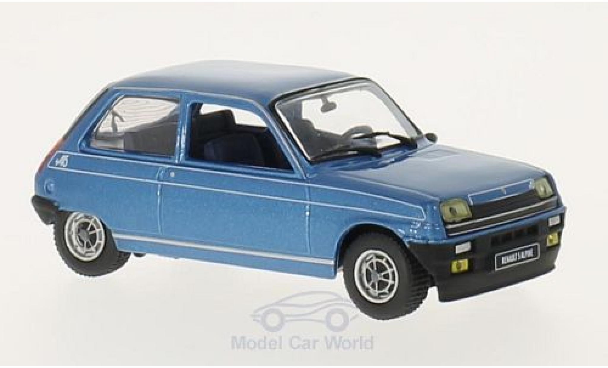 Renault 5 Alpine 1/43 GTI Collection Alpine metallic-azul 1976