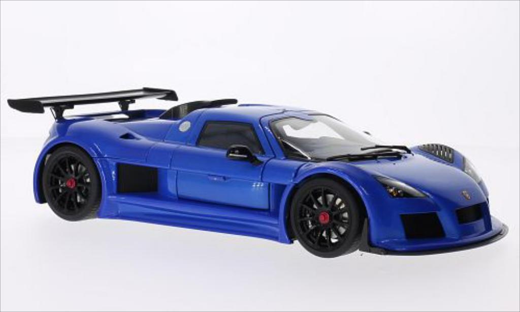 Gumpert Apollo 1/18 Autoart S metallic-bleu 2005 miniature