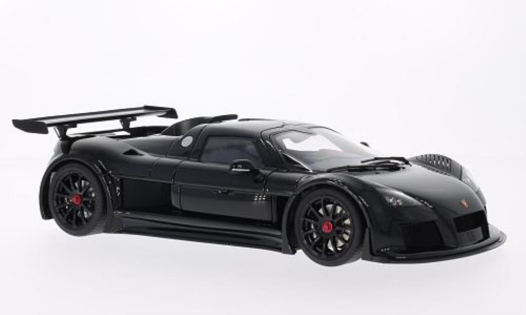 Gumpert Apollo 1/18 Autoart S black 2005 diecast