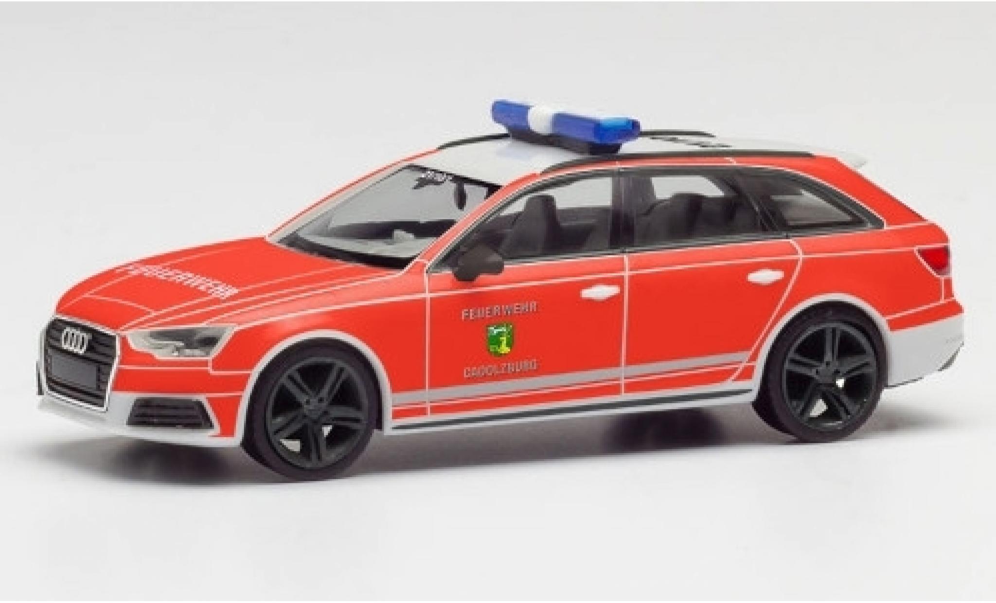 Audi A4 1/87 Herpa Avant Feuerwehr Cadolzburg