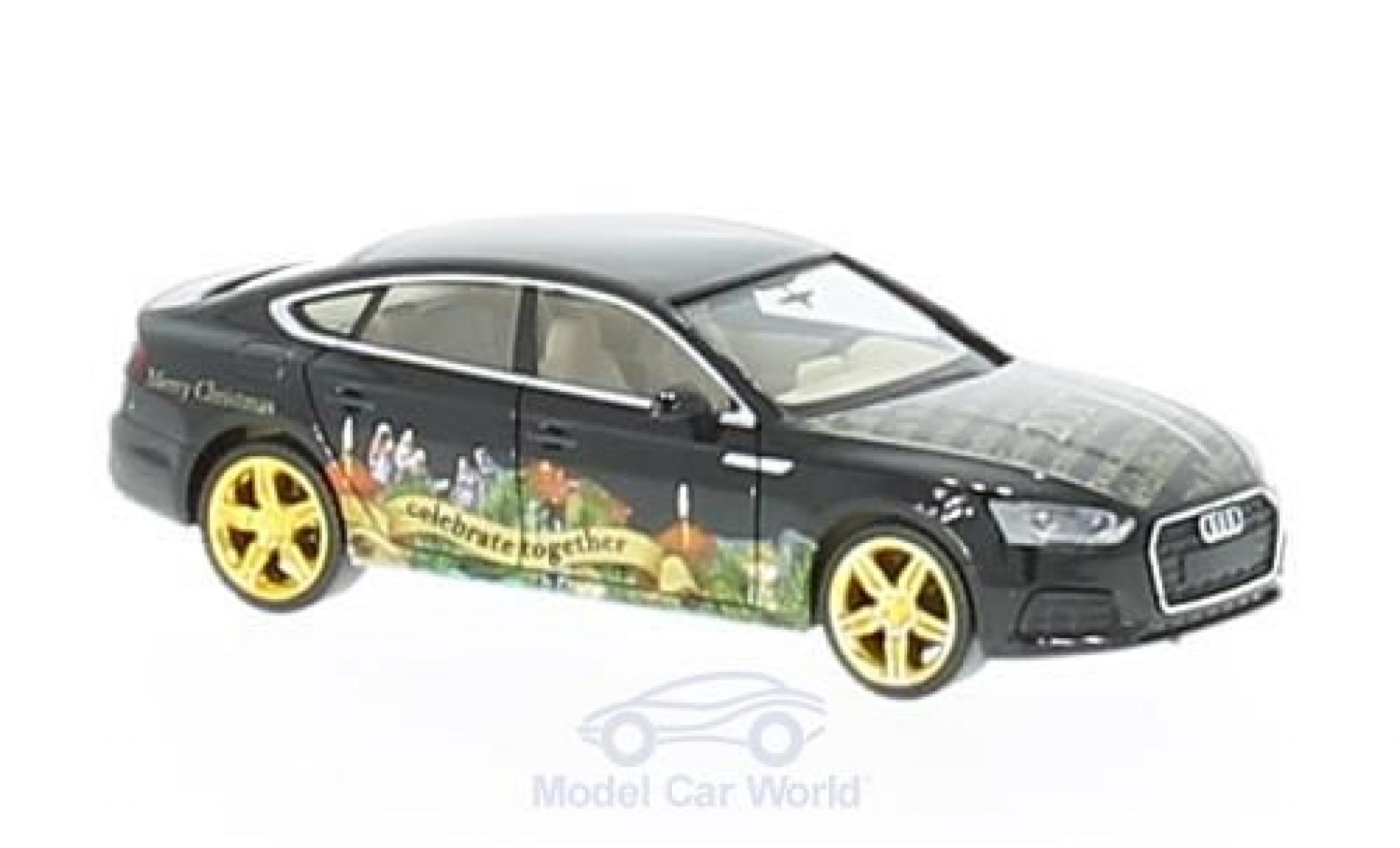 Audi A5 1/87 Herpa Sportback 2017 Herpa Weihnachts-PKW