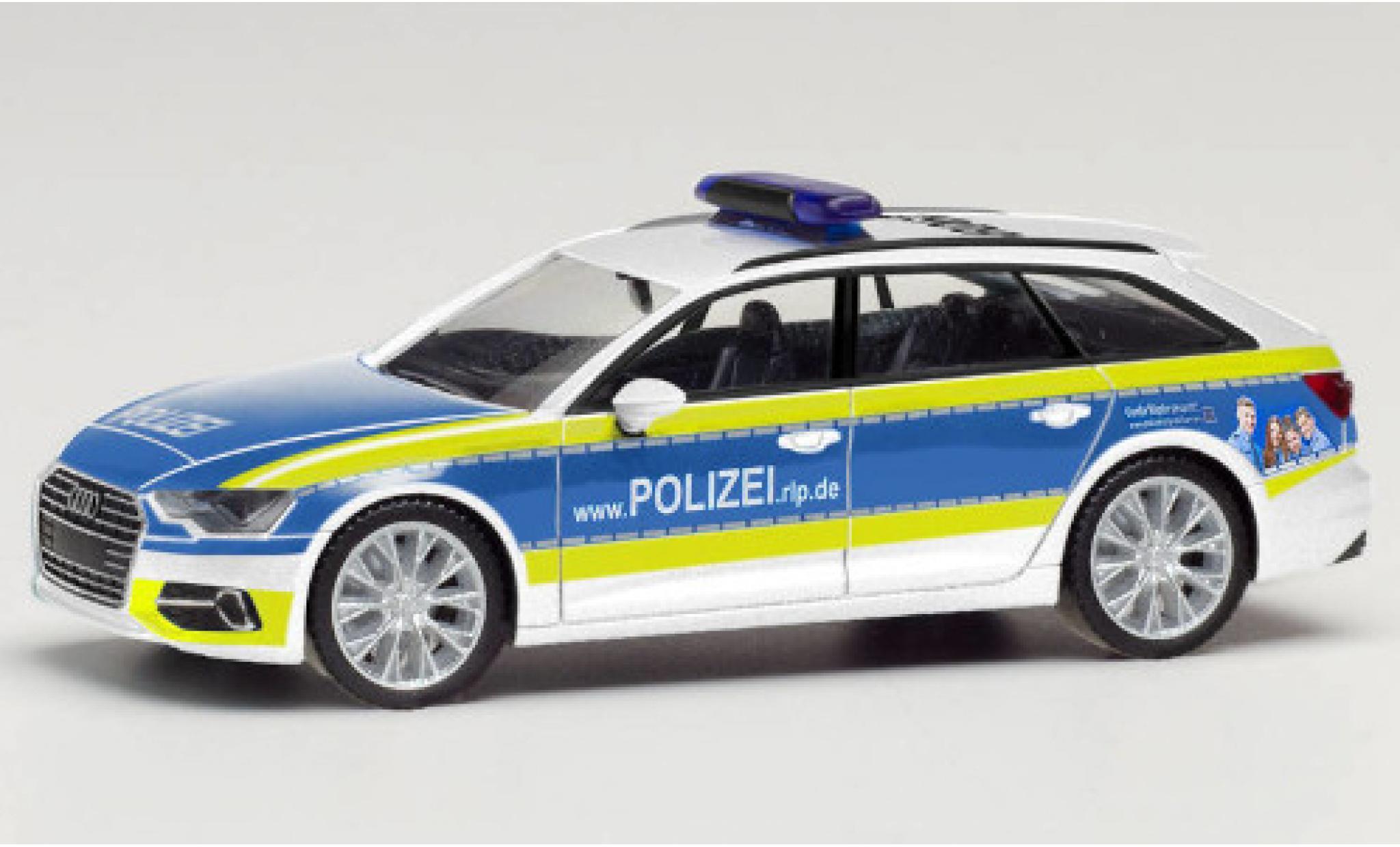 Audi A6 1/87 Herpa Avant Polizei Rheinland Pfalz