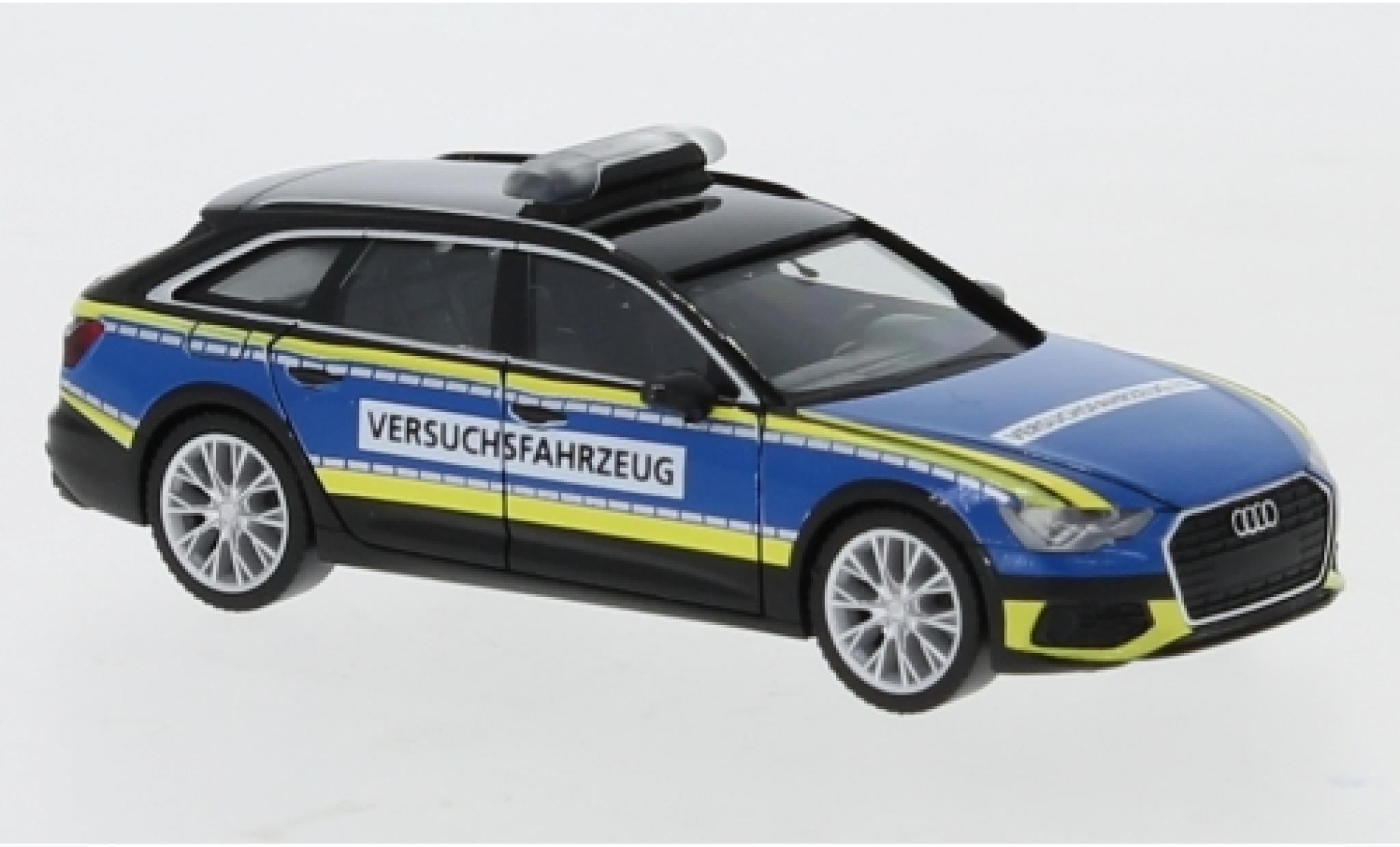 Audi A6 1/87 Herpa Avant Polizei Versuchsfahrzeug