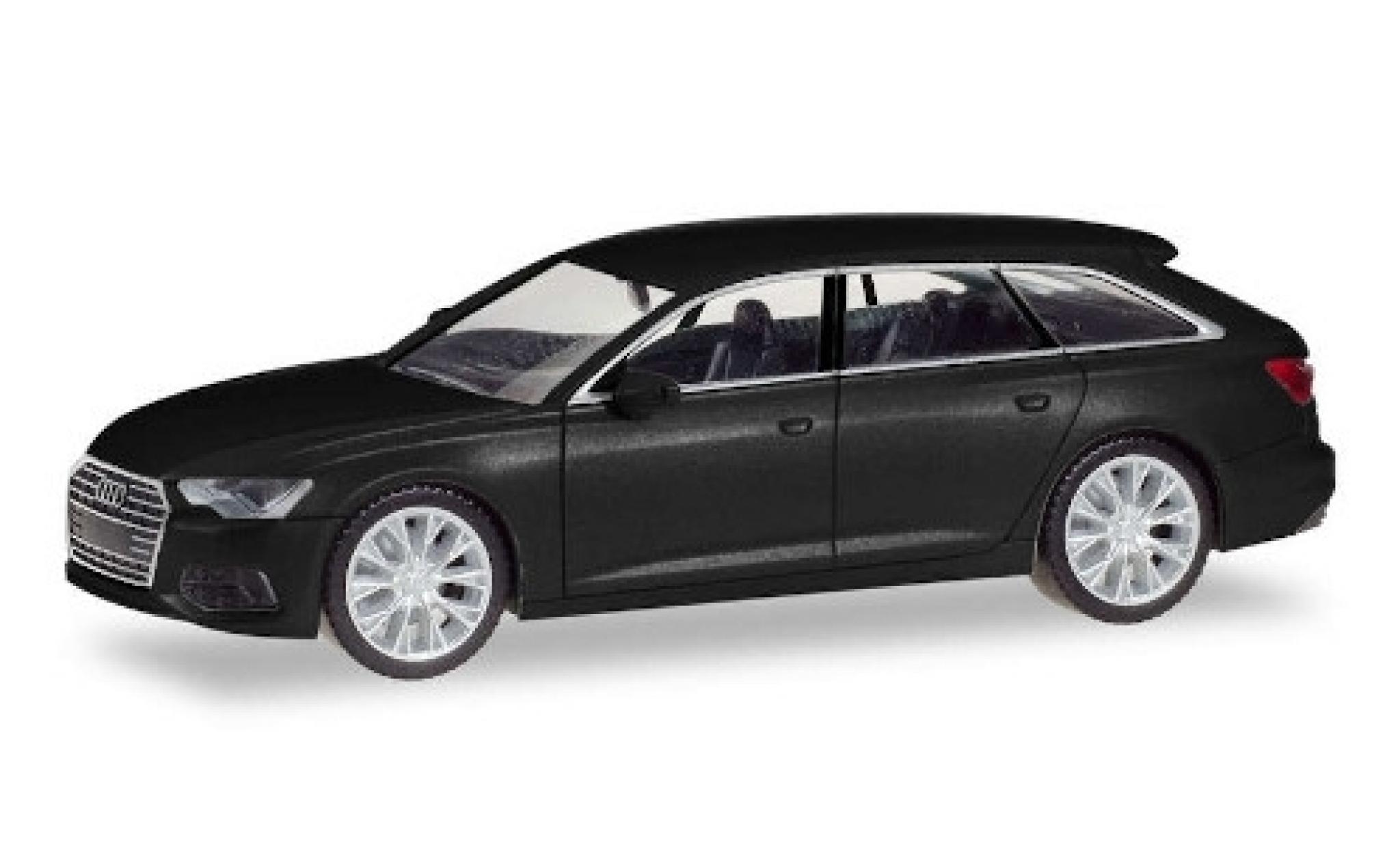 Audi A6 1/87 Herpa Avant noire