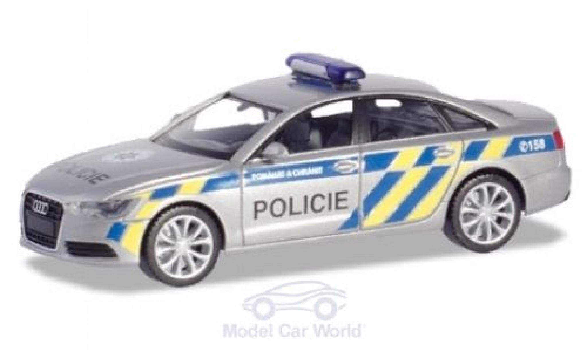 Audi A6 1/87 Herpa Polizei Prag