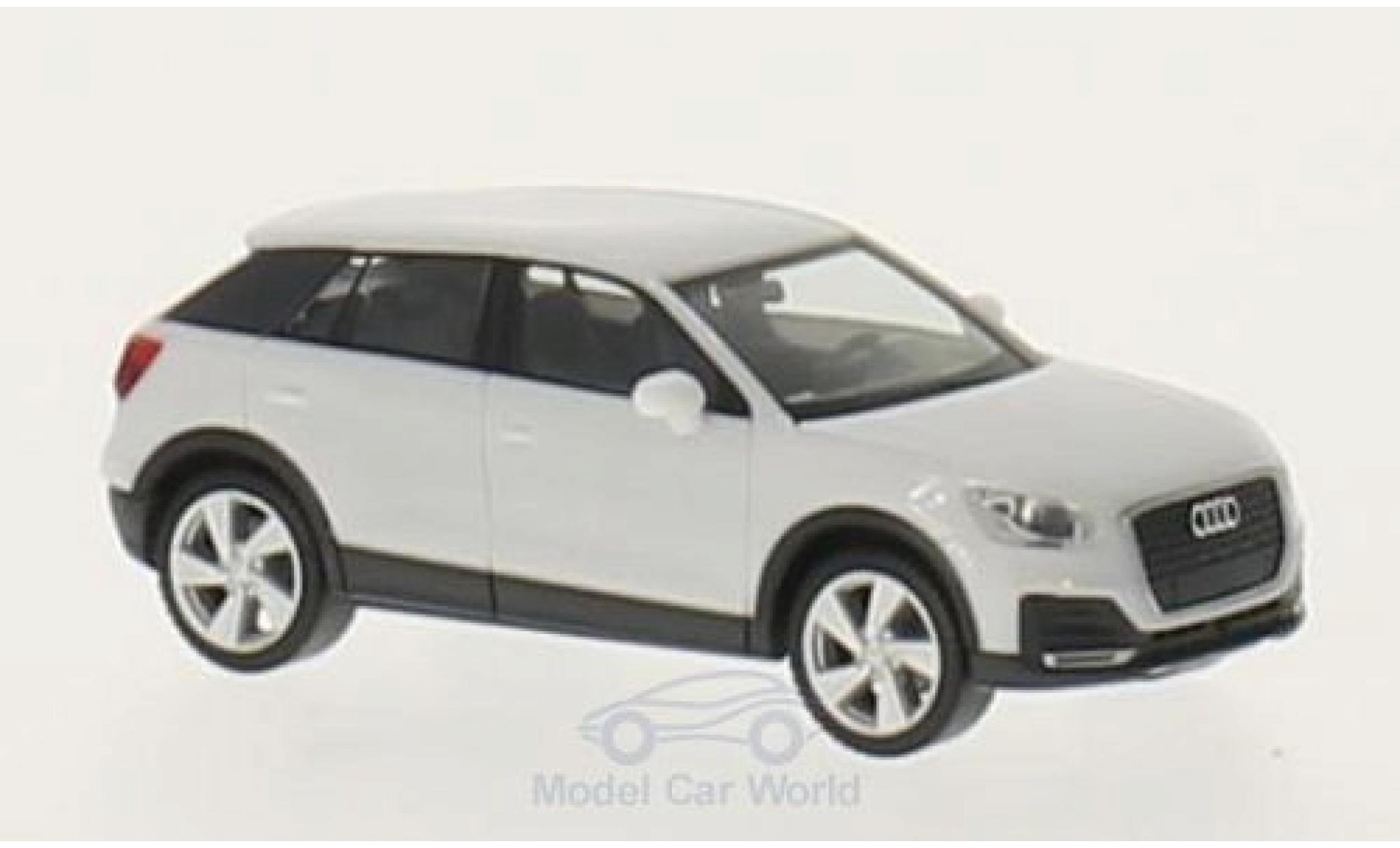 Audi Q2 1/87 Herpa white