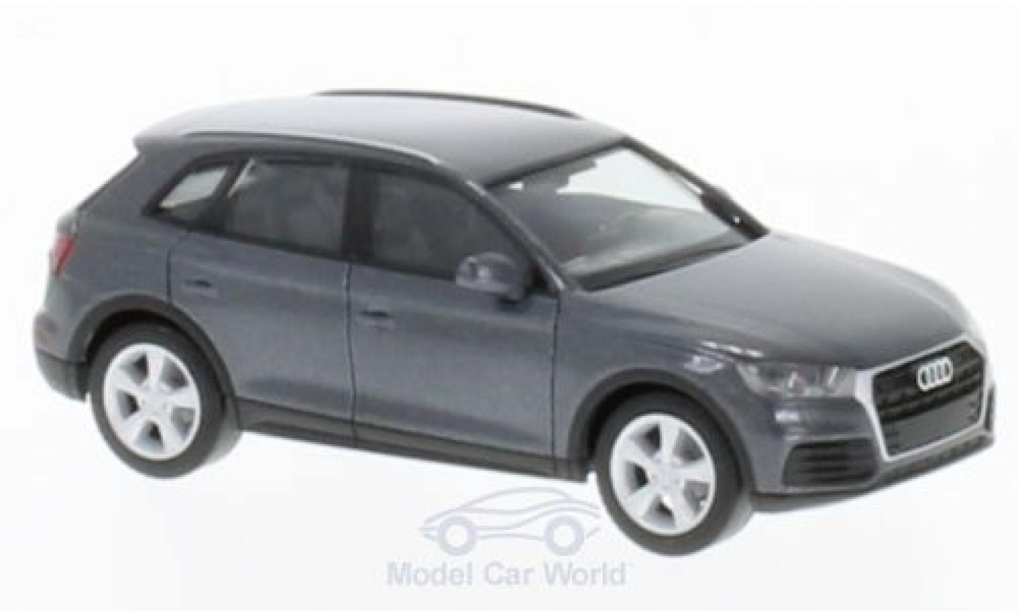 Audi Q5 1/87 Herpa métallisé grise