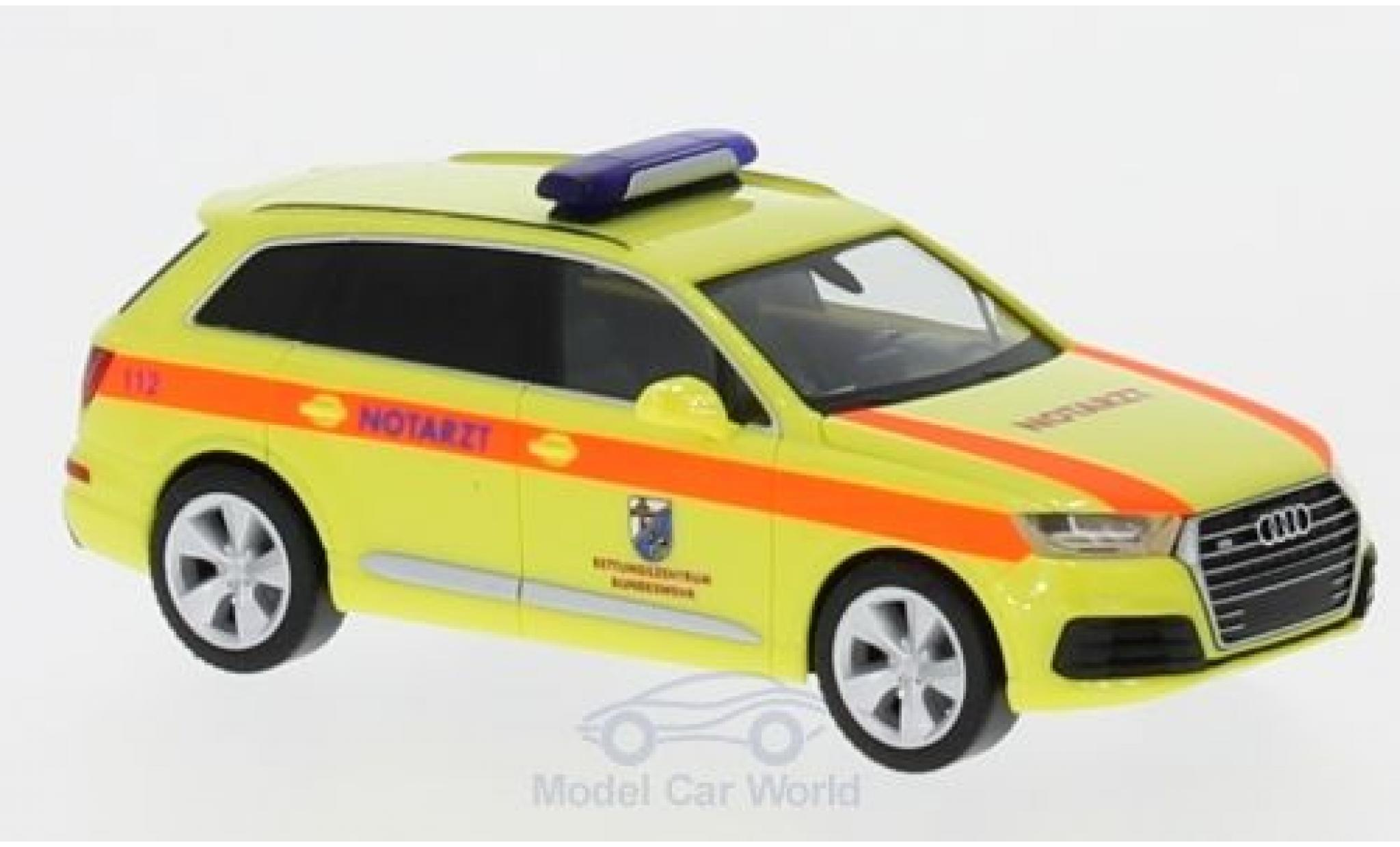 Audi Q7 1/87 Herpa Rettungszentrum Bundeswehr Hannover