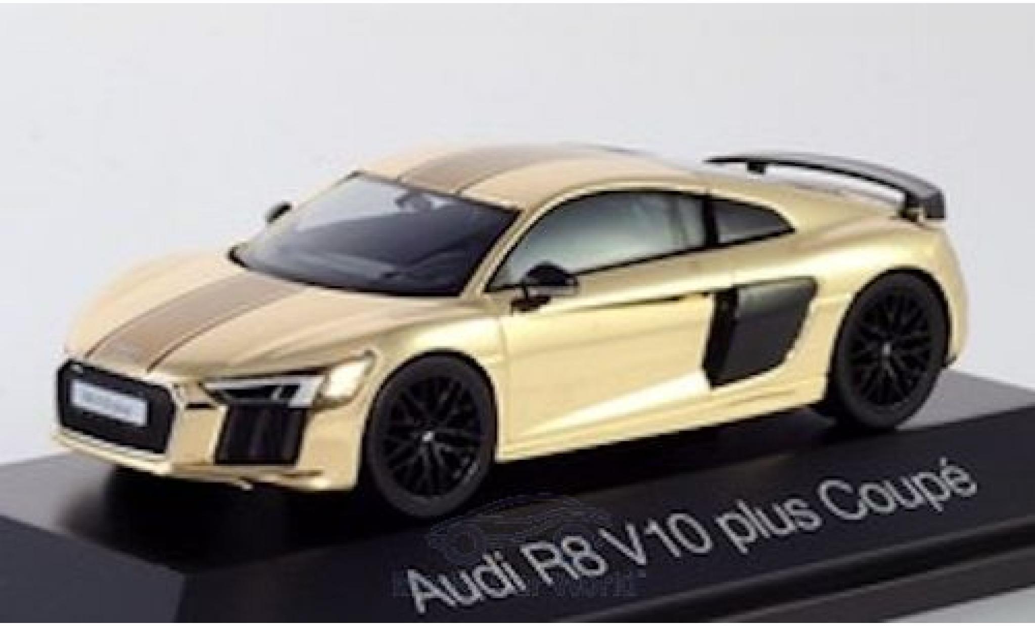 Audi R8 1/43 Herpa V10 Plus gold
