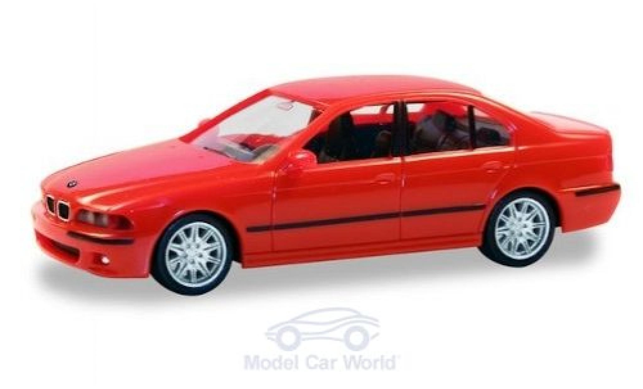 Bmw M5 1/87 Herpa (E34) rouge