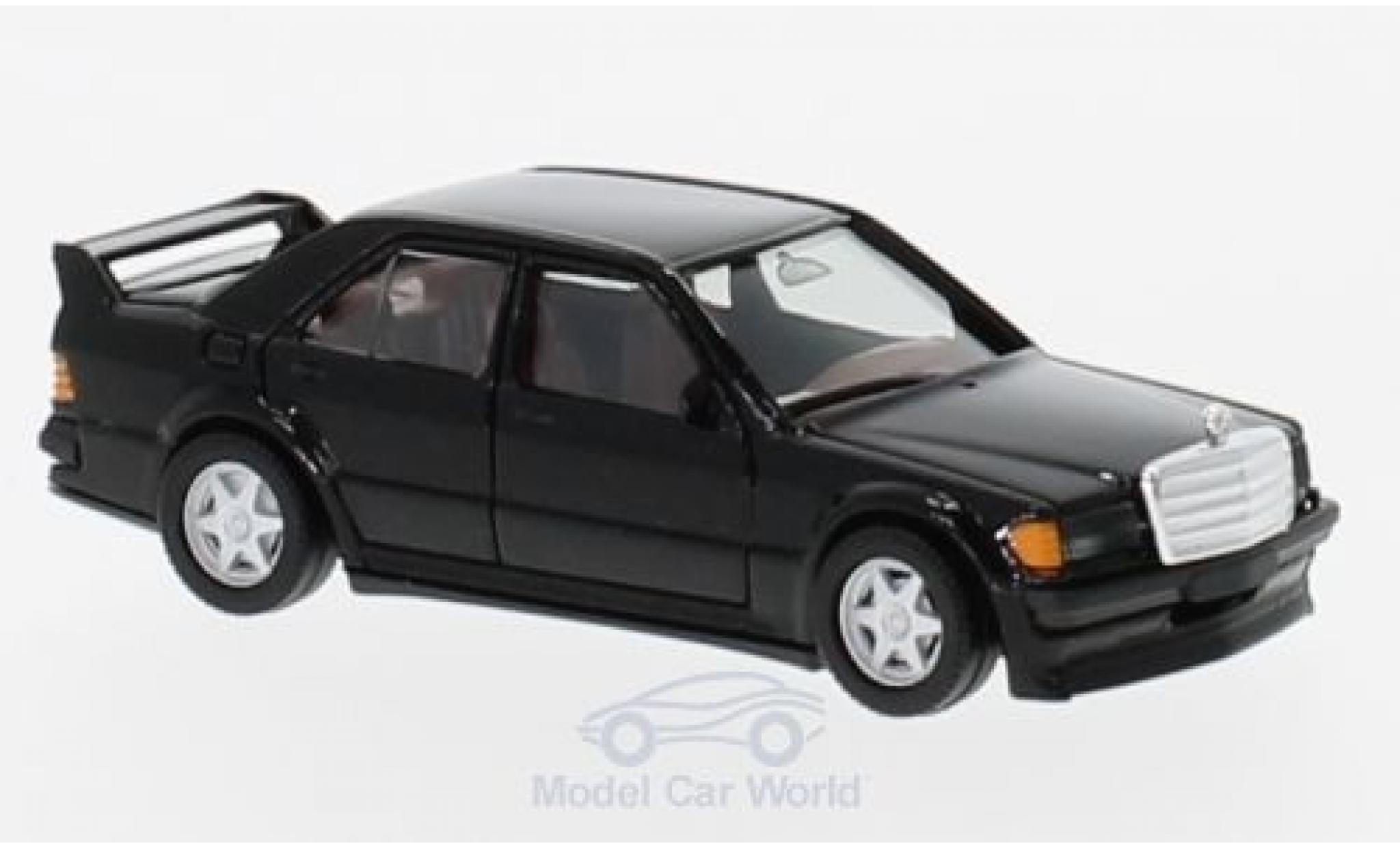 Mercedes 190 E 1/87 Herpa E 25 16V black