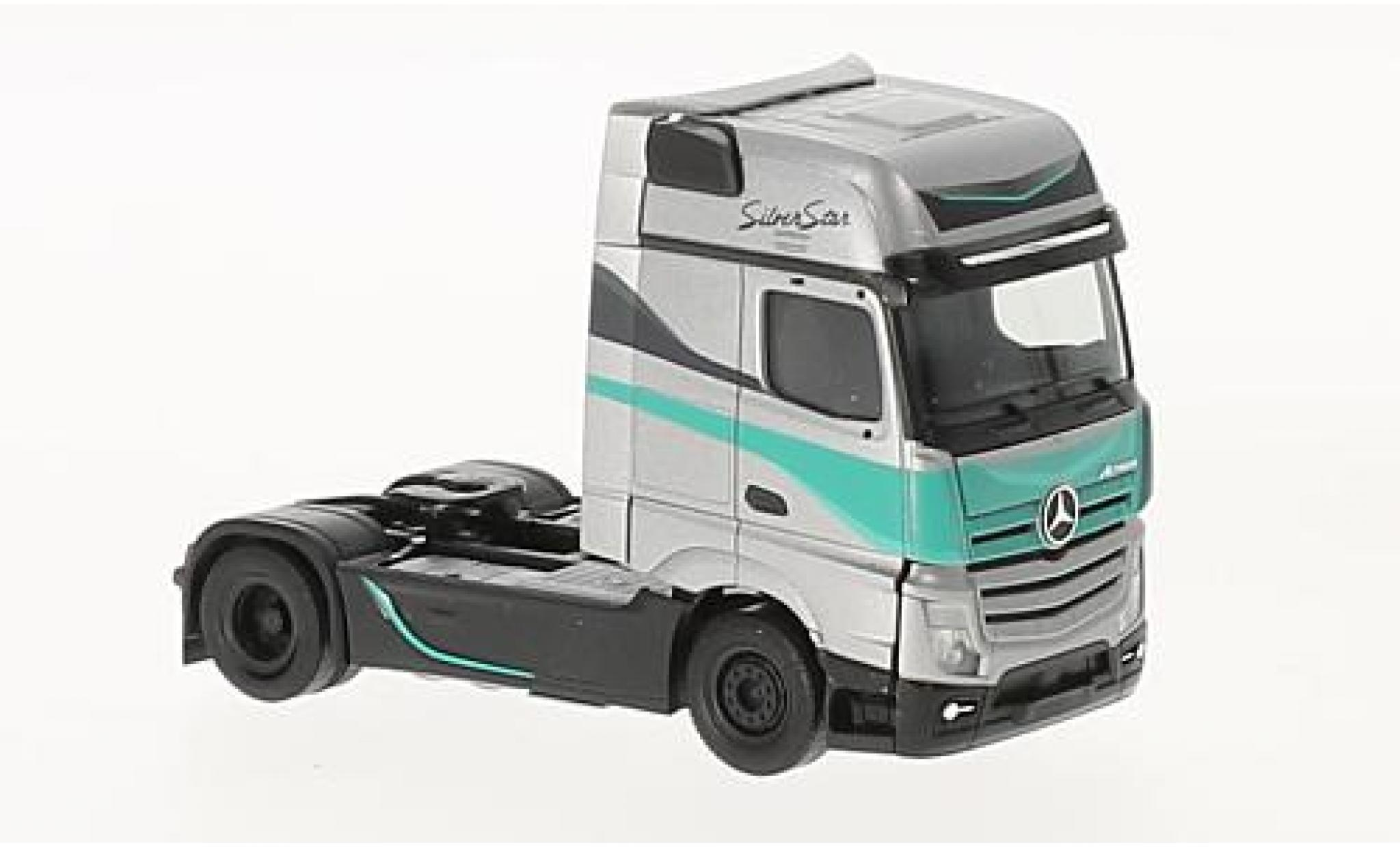 Mercedes Actros 1/87 Herpa Gigaspace Silver Star Silver Star Edition (NL) tracteur