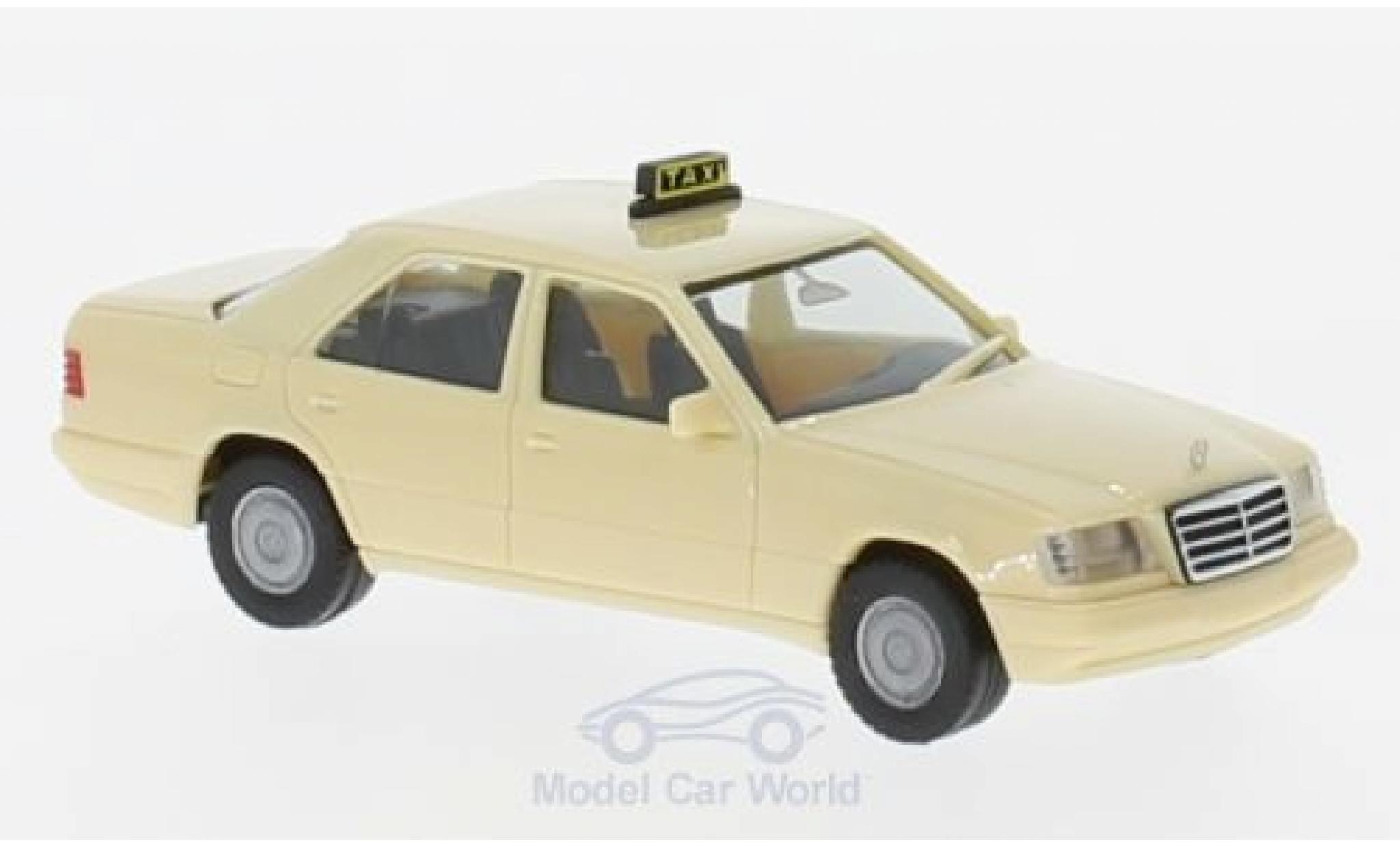 Mercedes Classe E 1/87 Herpa (W124) Taxi