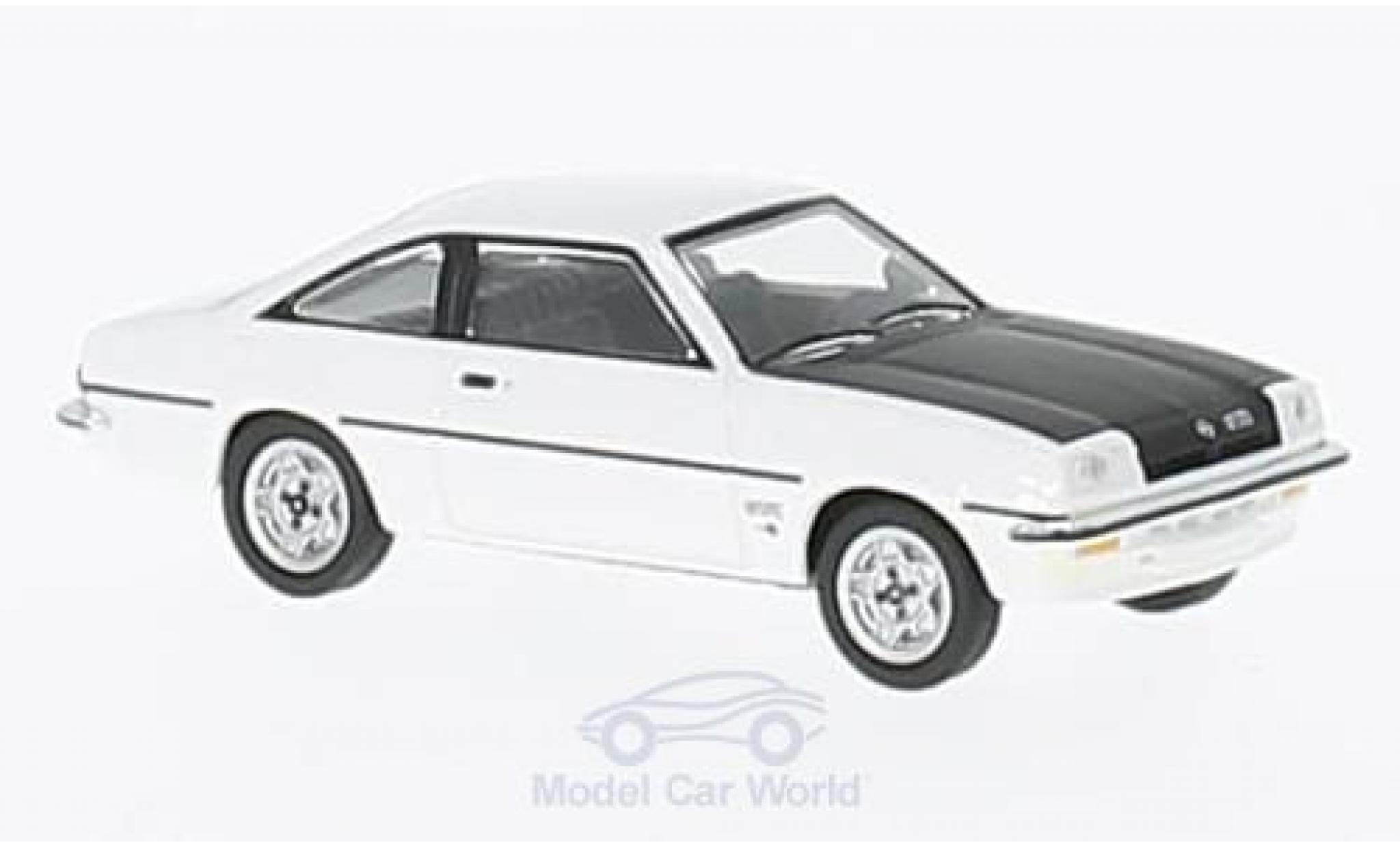 Opel Manta B 1/87 Herpa GT/E blanche/noire