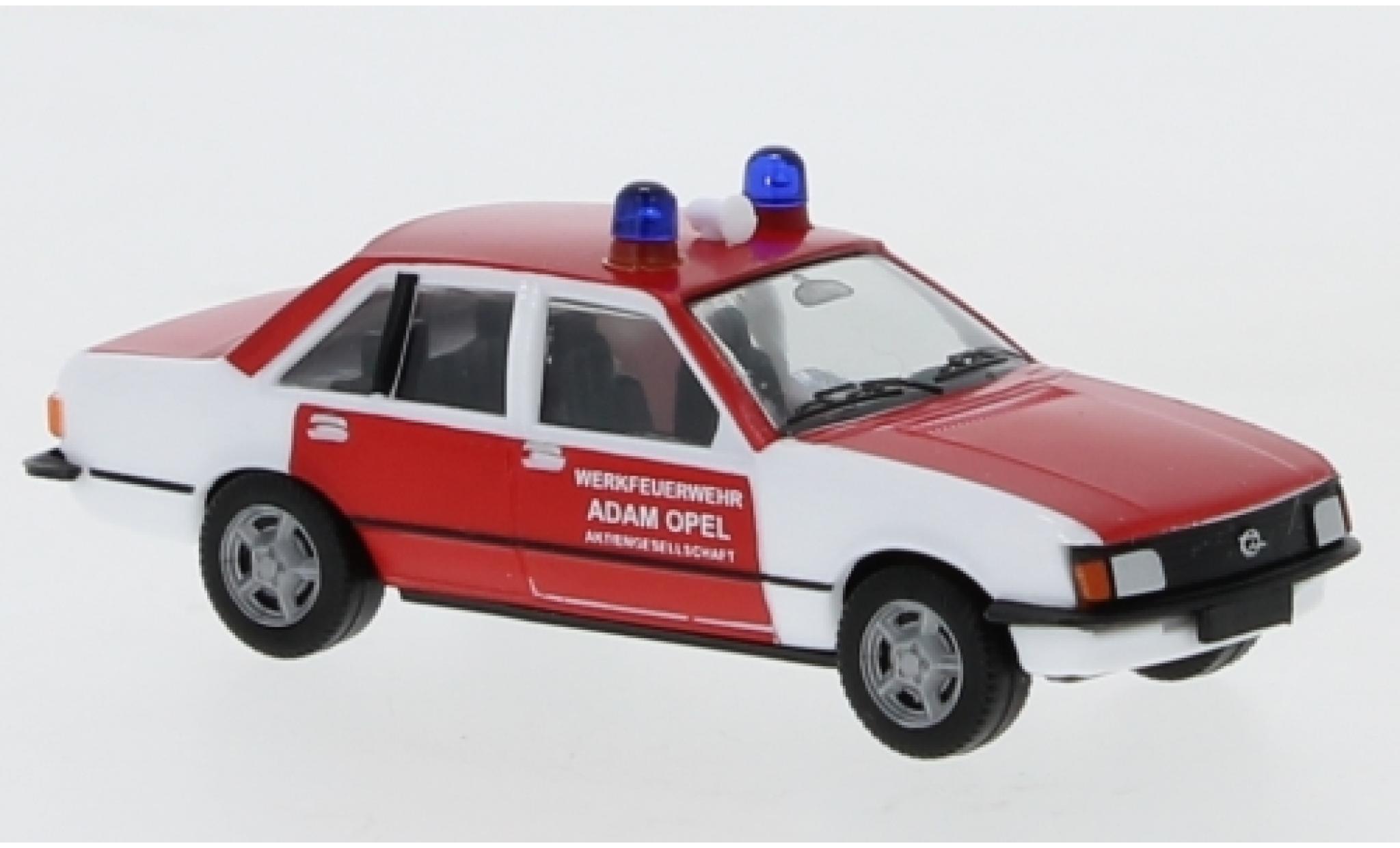 Opel Rekord 1/87 Herpa E Werkfeuerwehr Adam AG