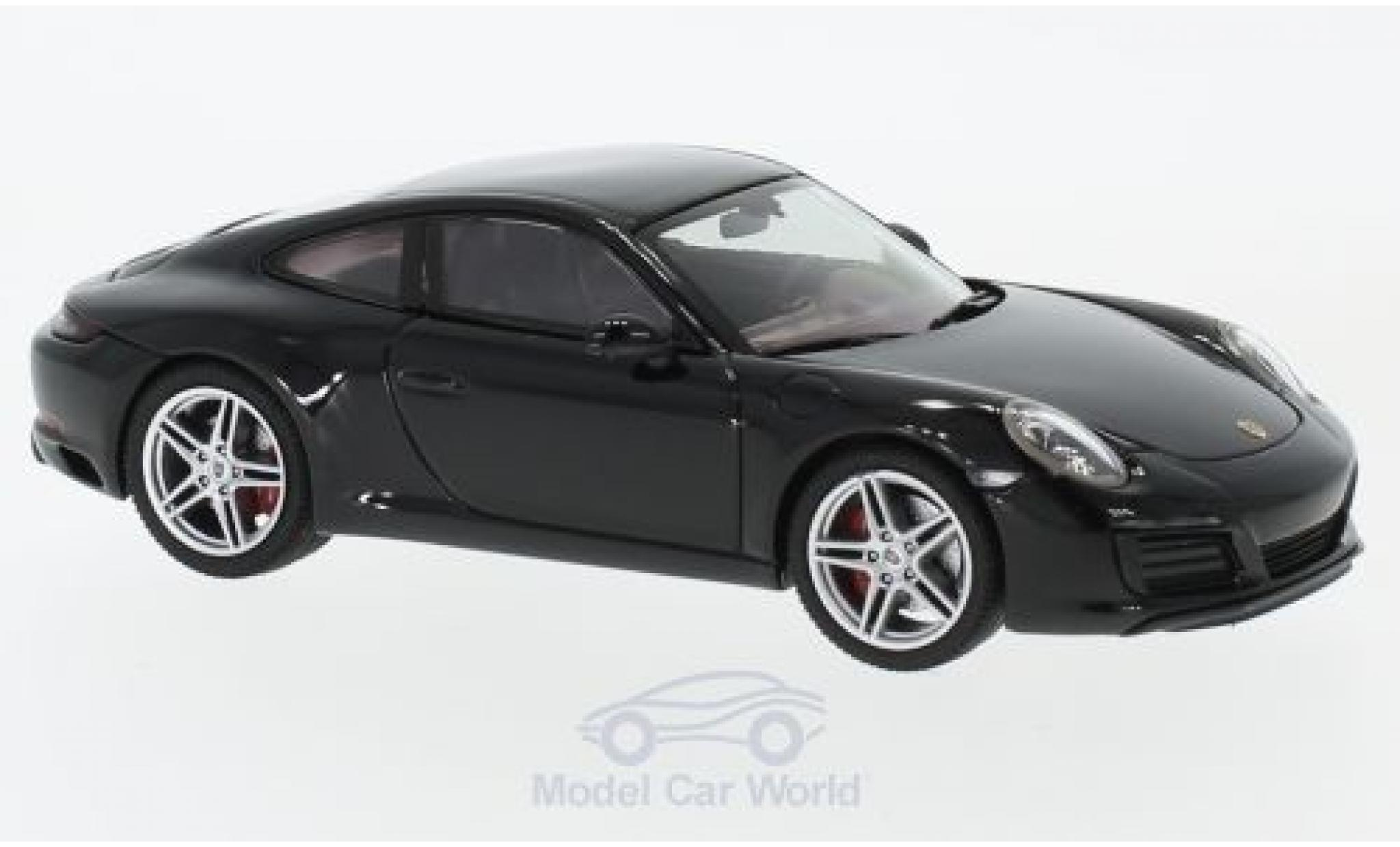 Porsche 991 SC 1/43 Herpa 911 (/2) Carrera black