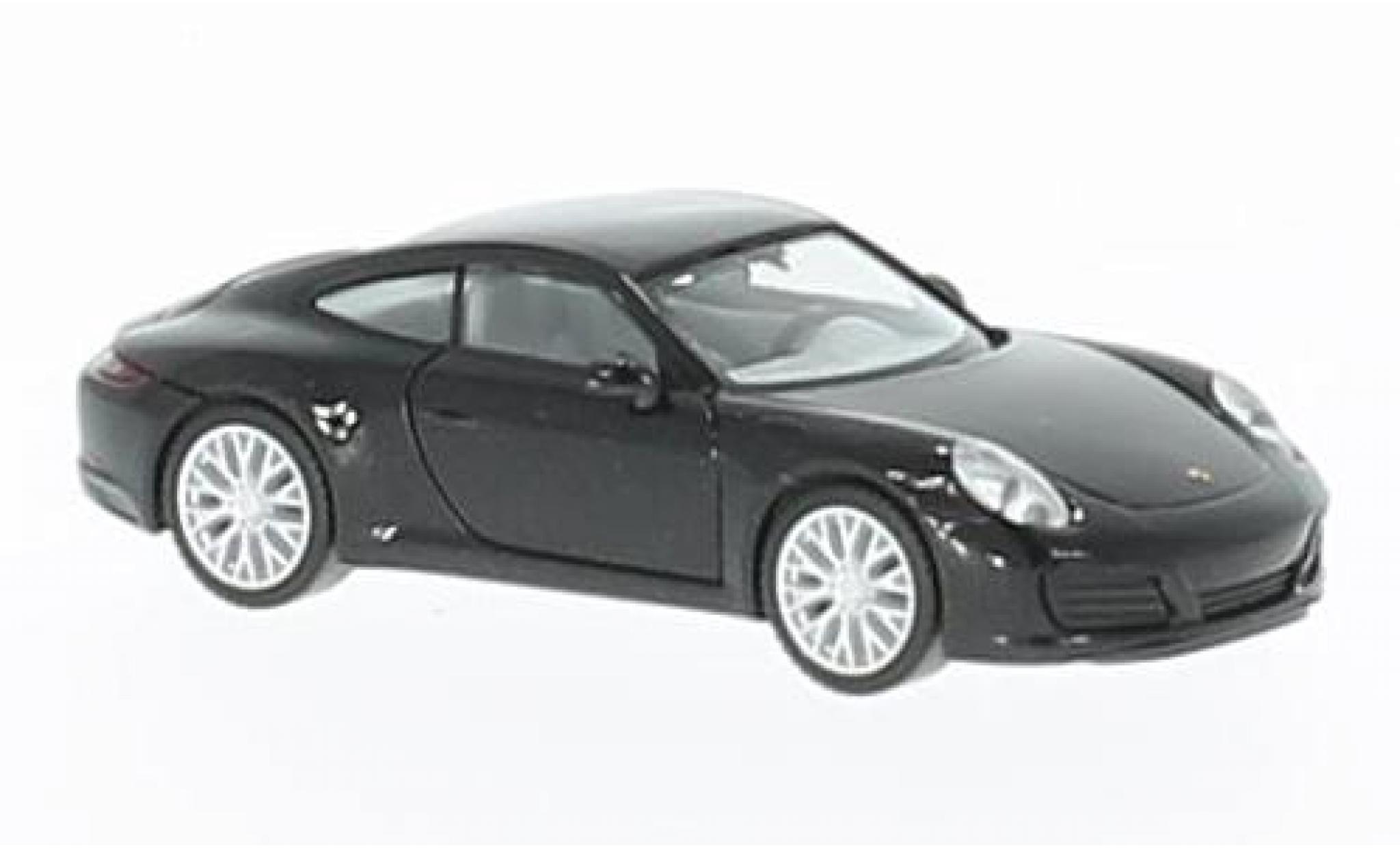 Porsche 991 4S 1/87 Herpa 911  Carrera metallise black