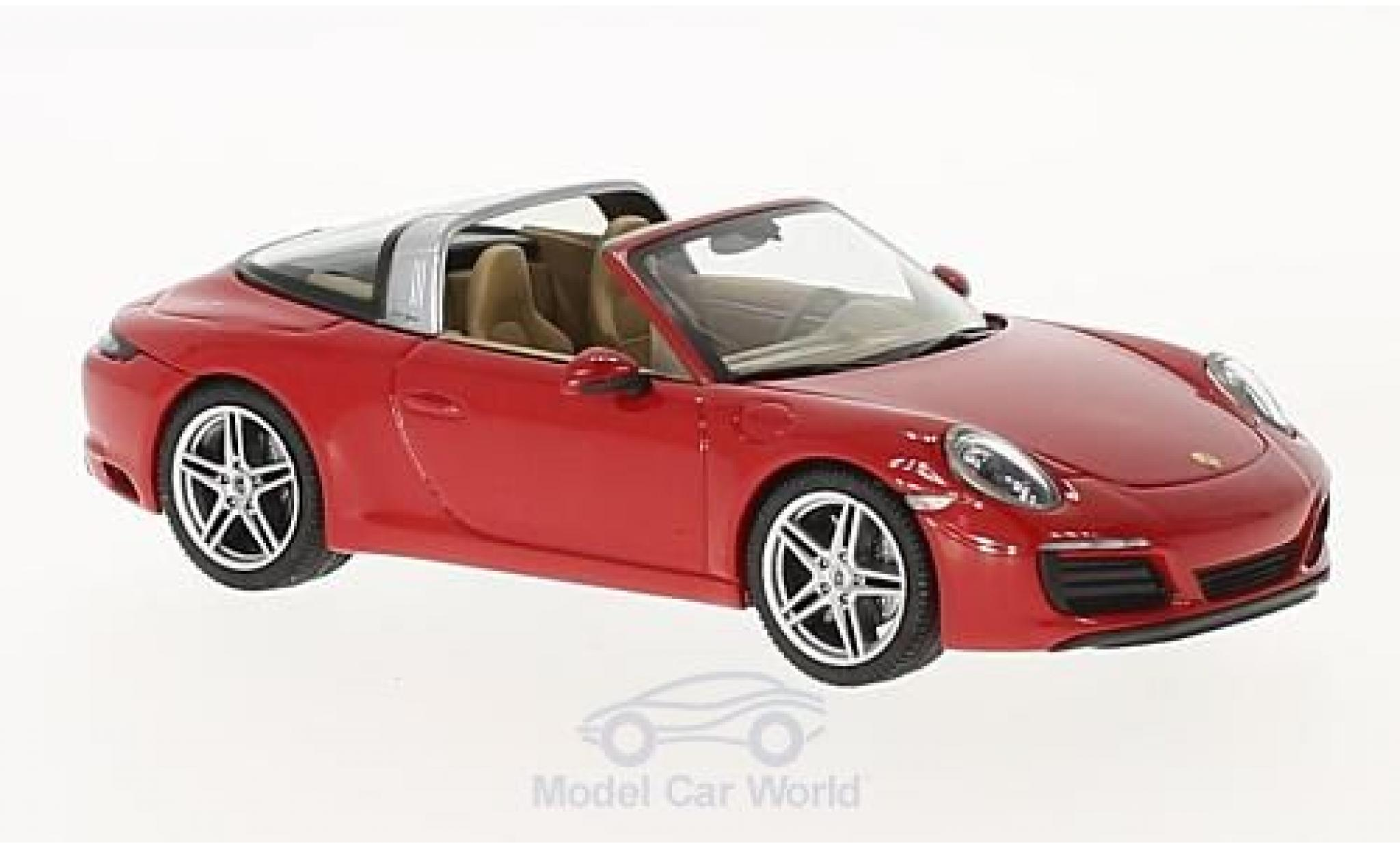 Porsche 911 Targa 1/43 Herpa 4 rouge