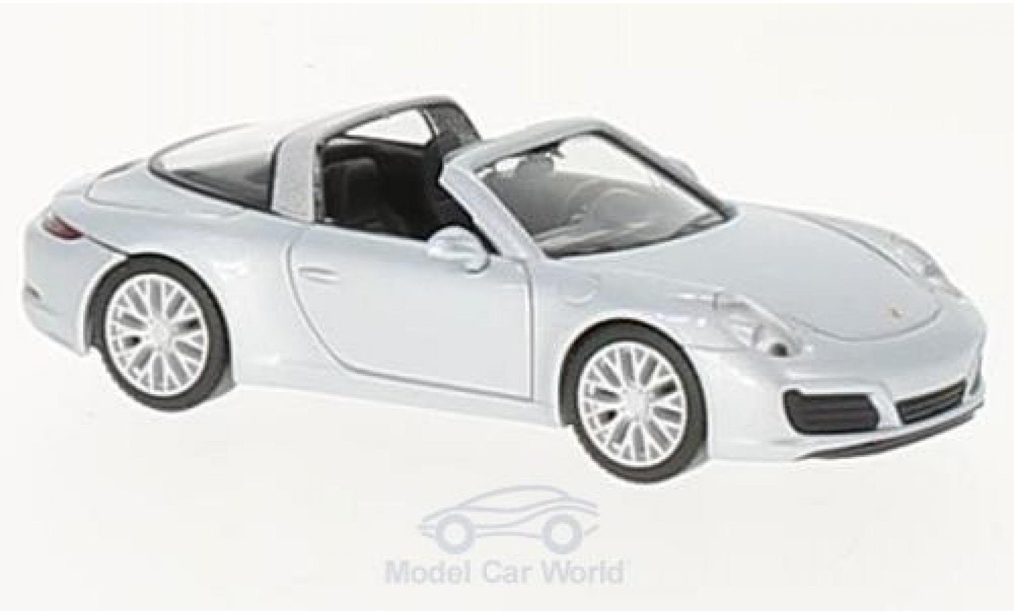 Porsche 911 Targa 1/87 Herpa Targa 4S gris