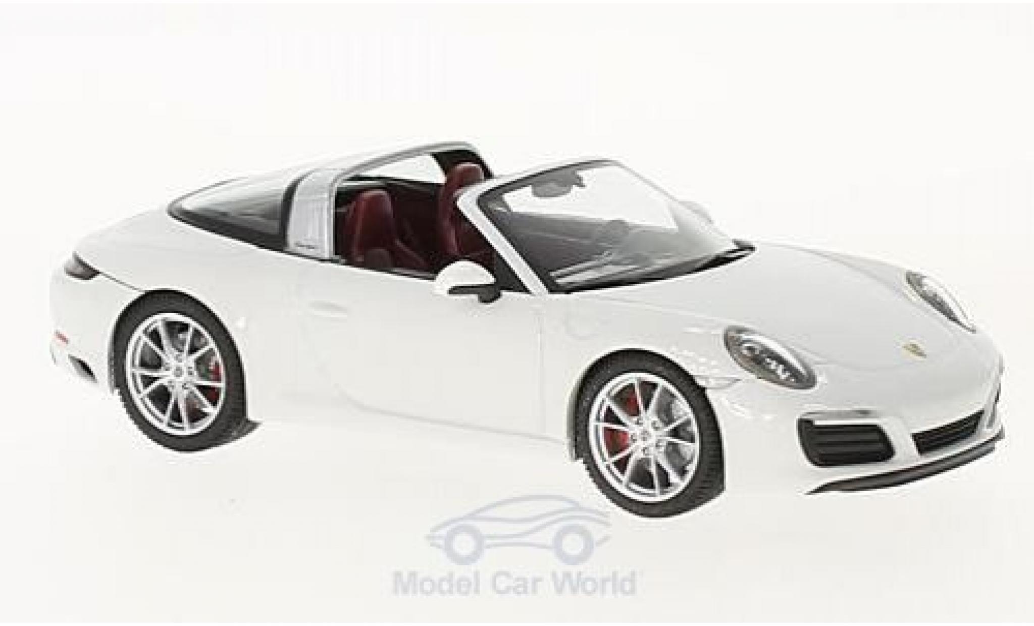 Porsche 911 Targa 1/43 Herpa 4S blanche