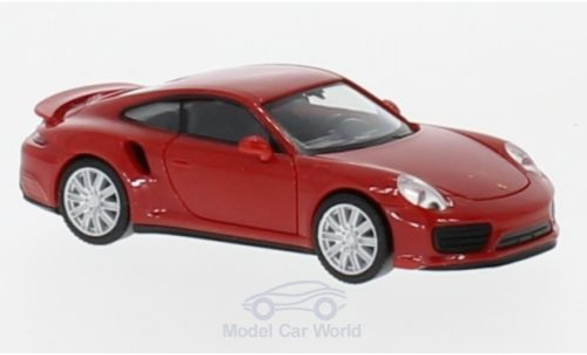 Porsche 911 Turbo 1/87 Herpa Turbo red