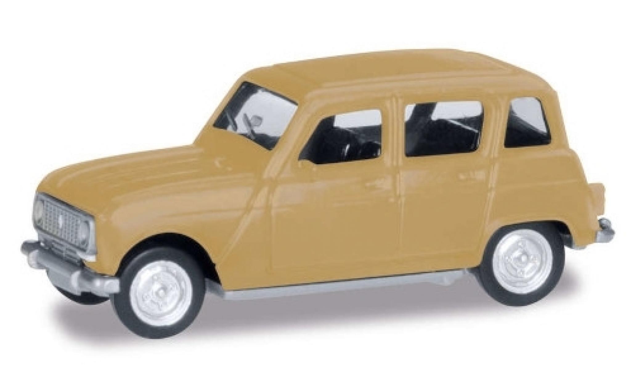 Renault 4 1/87 Herpa R beige