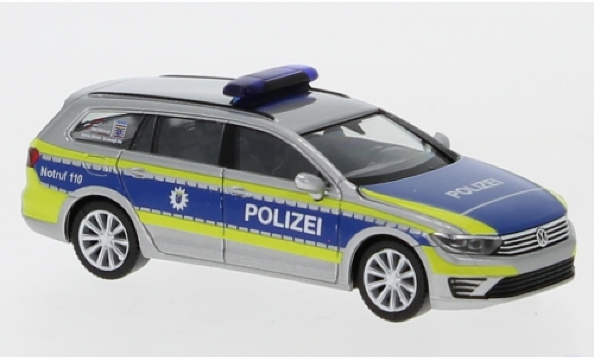 Volkswagen Passat 1/87 Herpa GTE Polizei Hessen