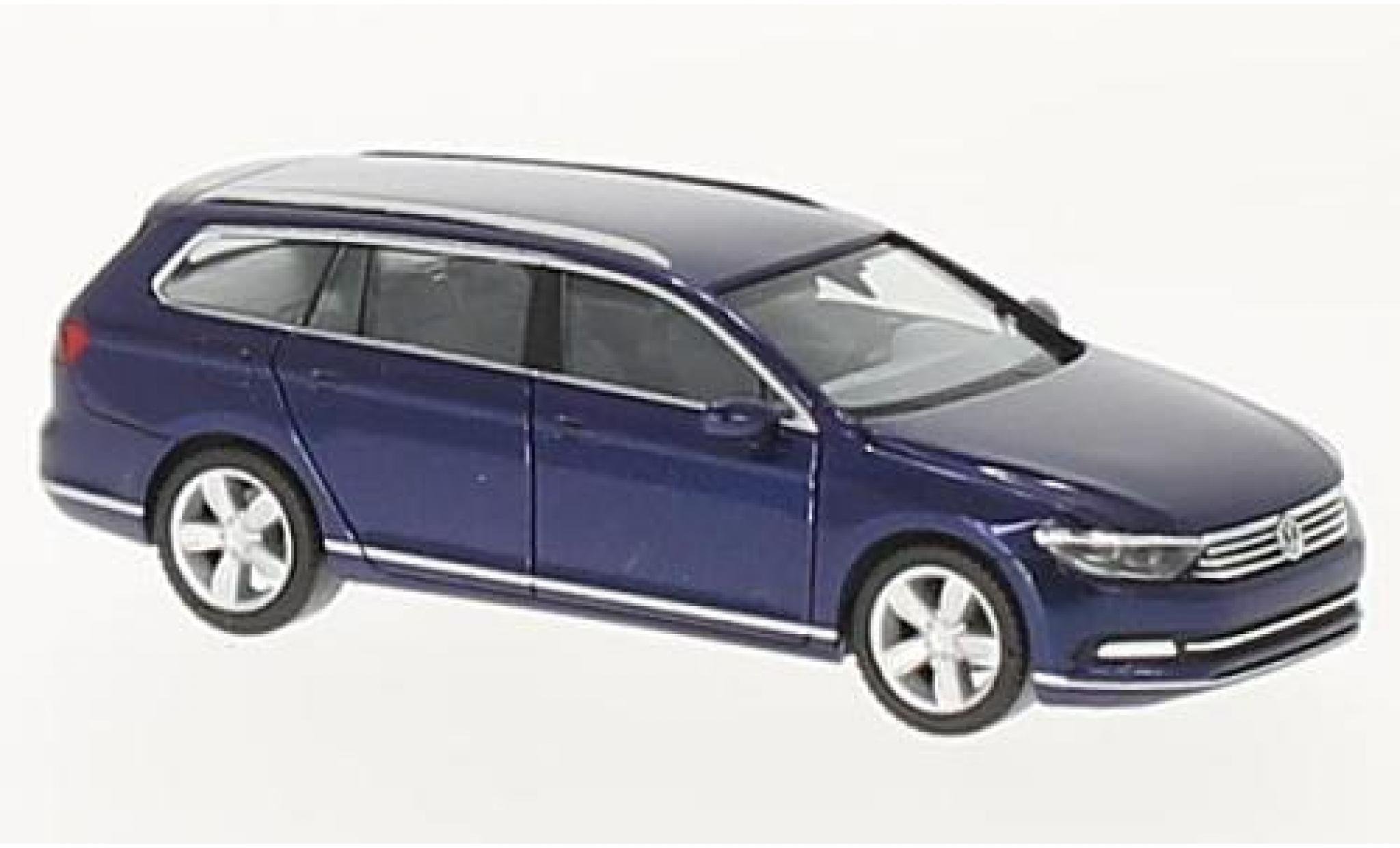 Volkswagen Passat 1/87 Herpa Variant metallise bleue
