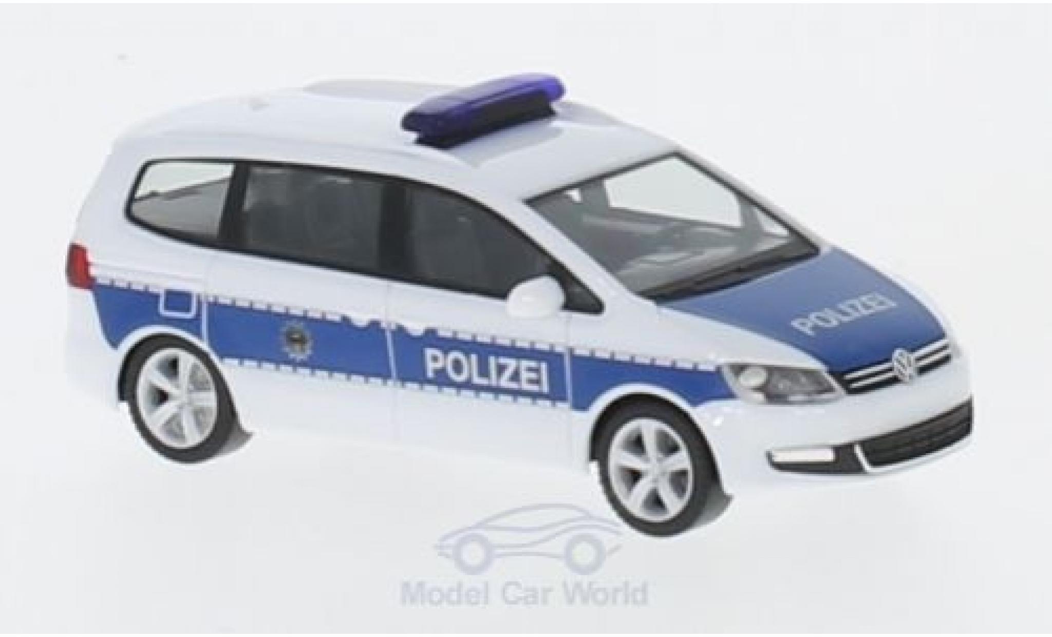 Herpa VW Sharan Feuerwehr Wolfsburg Notarzt