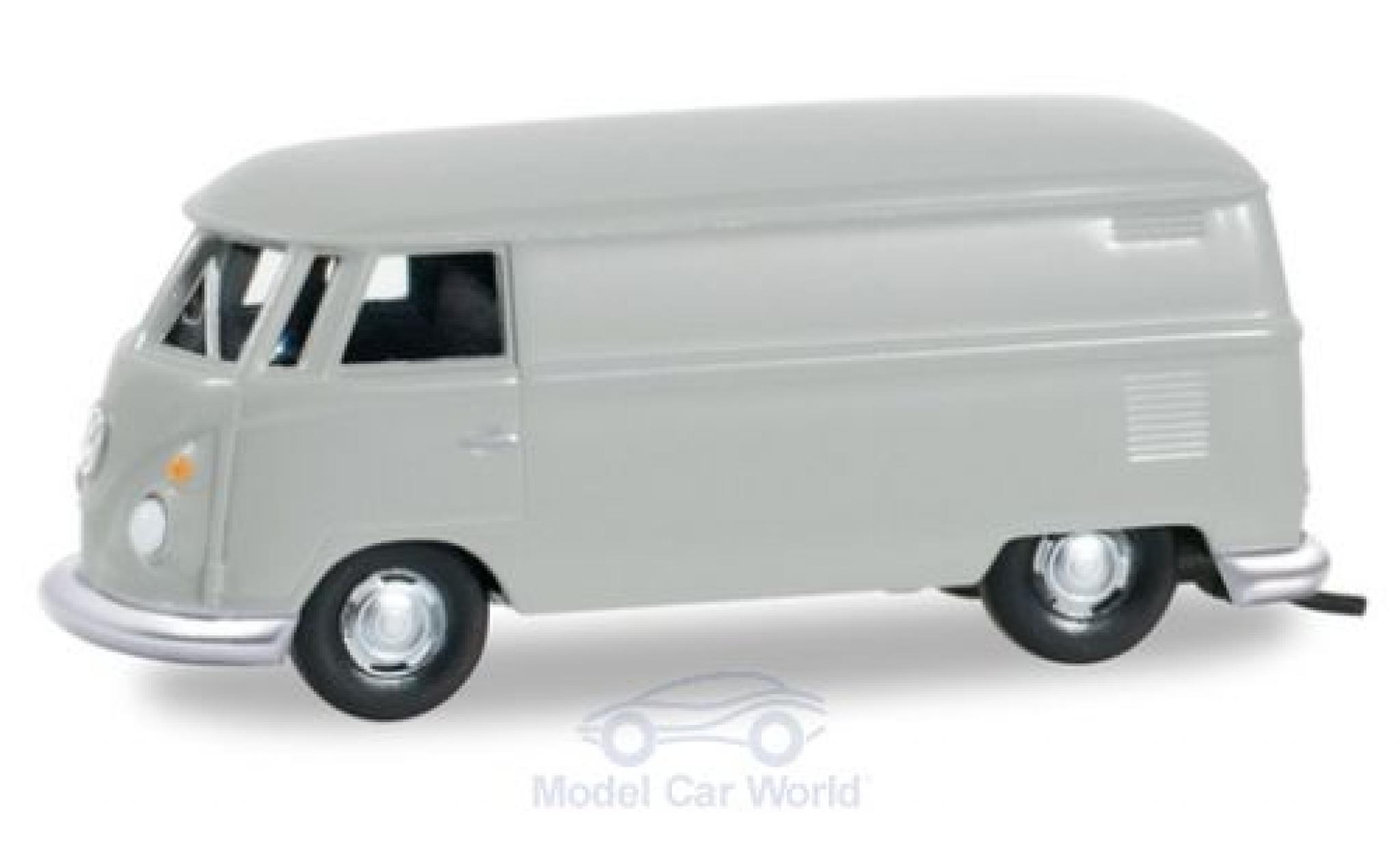 Volkswagen T1 1/87 Herpa Kastenwagen grey