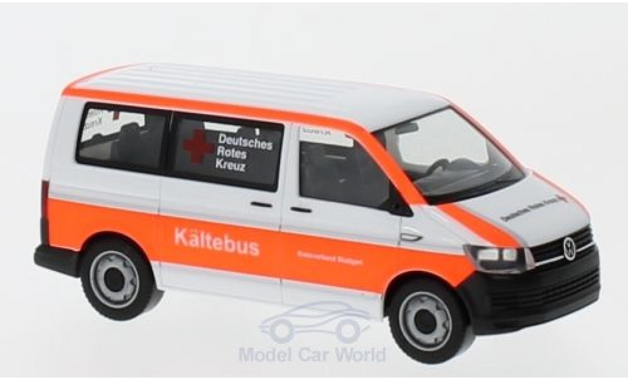 Volkswagen T6 1/87 Herpa Bus DRK Stuttgart / Kältebus