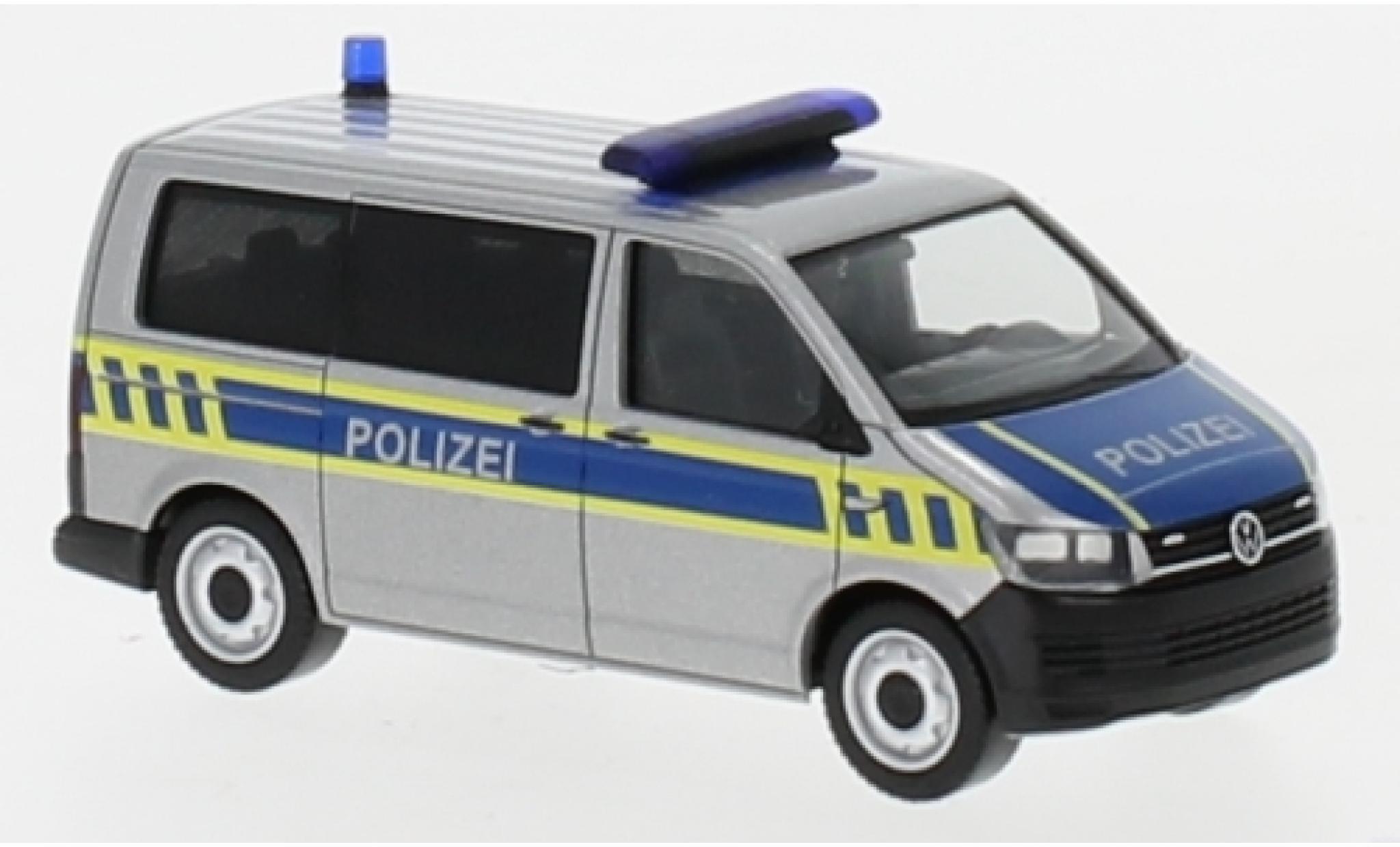 Volkswagen T6 1/87 Herpa Bus Landespolizei Sachsen-Anhalt Exclusive Series