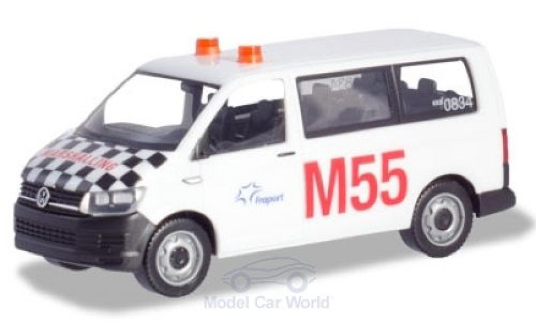 Volkswagen T6 1/87 Herpa Multivan Fraport Marshalling