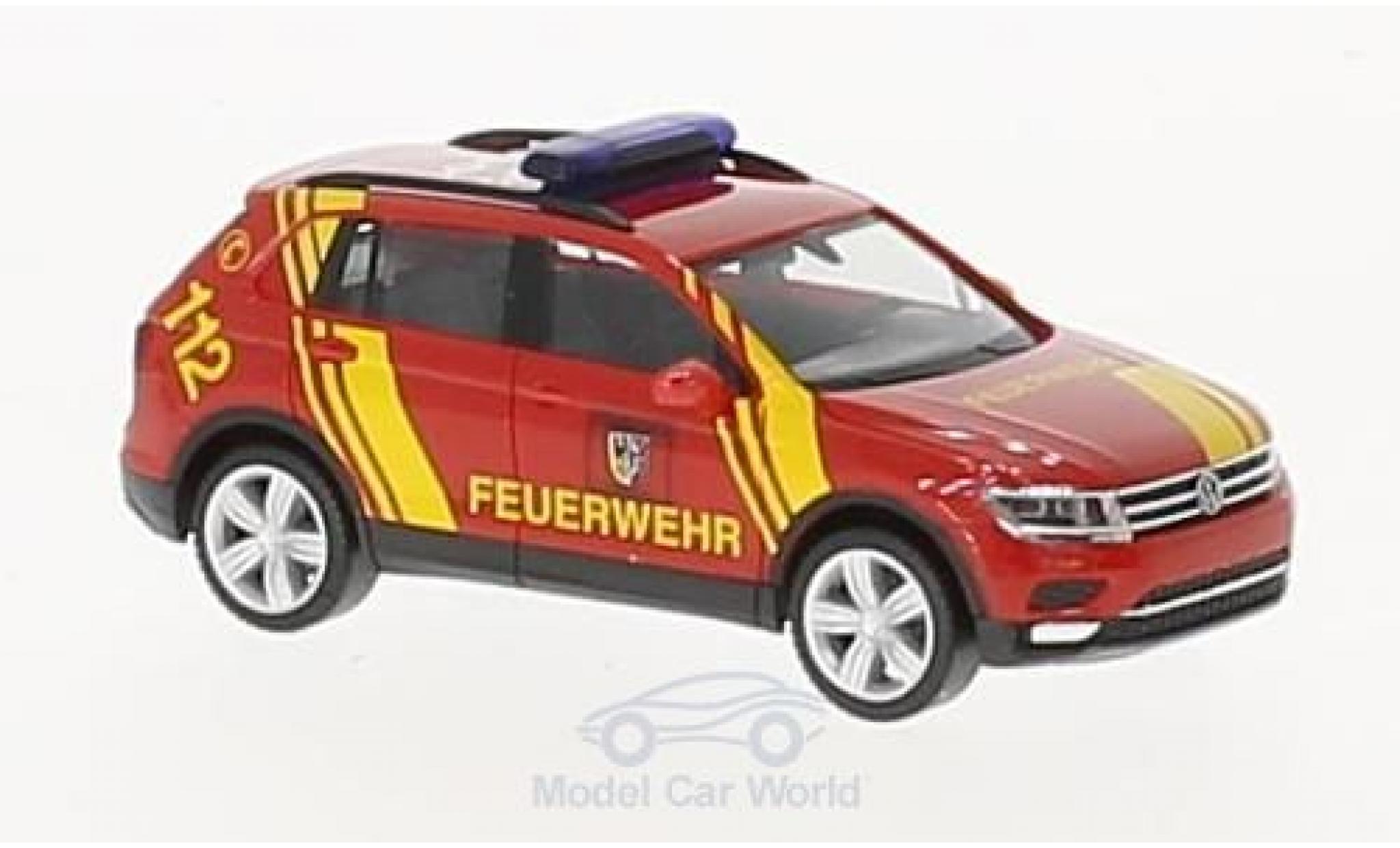 Volkswagen Tiguan 1/87 Herpa Feuerwehr Goslar