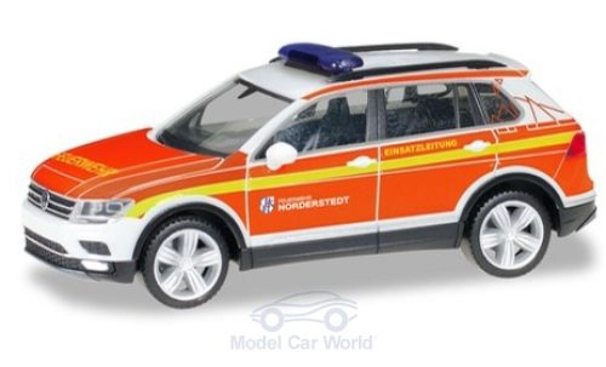 Volkswagen Tiguan 1/87 Herpa Freiwillige Feuerwehr Norderstedt Kommandofahrzeug