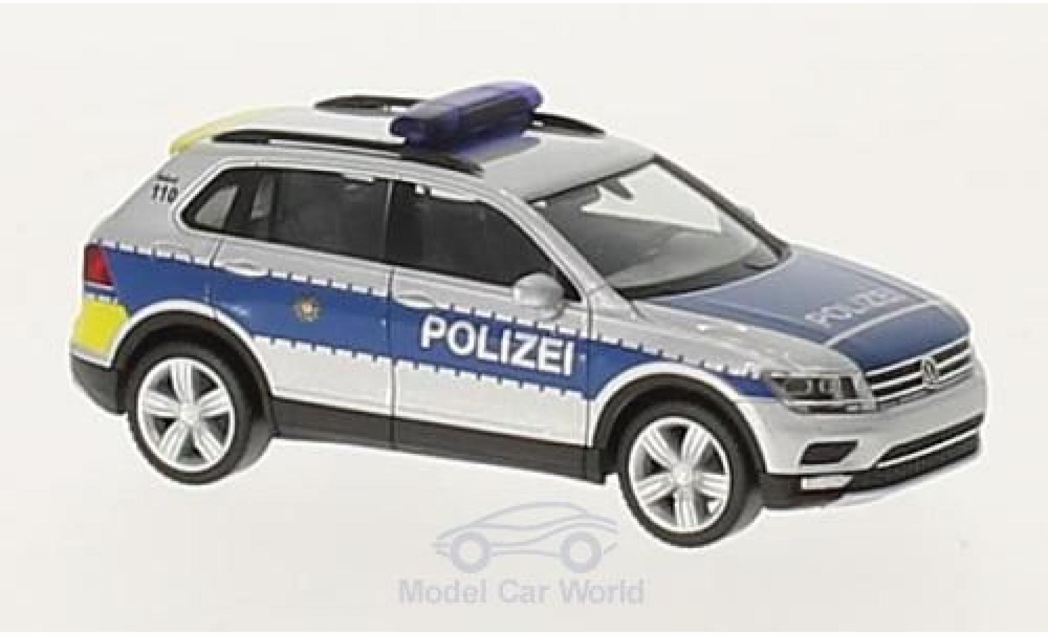 Volkswagen Tiguan 1/87 Herpa Polizei Wiesbaden