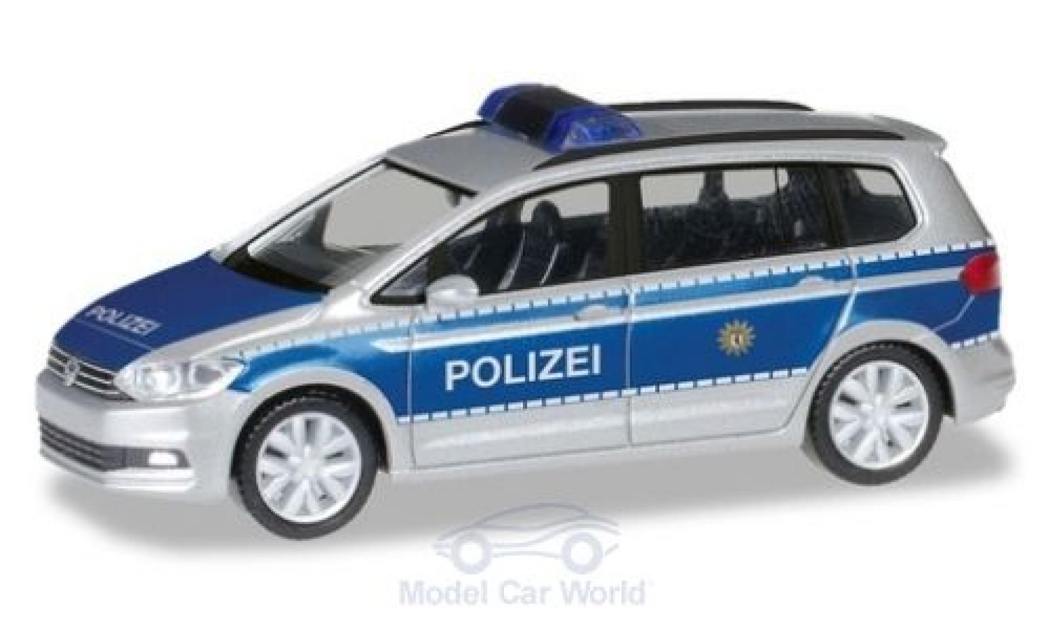 Volkswagen Touran 1/87 Herpa Polizei Berlin