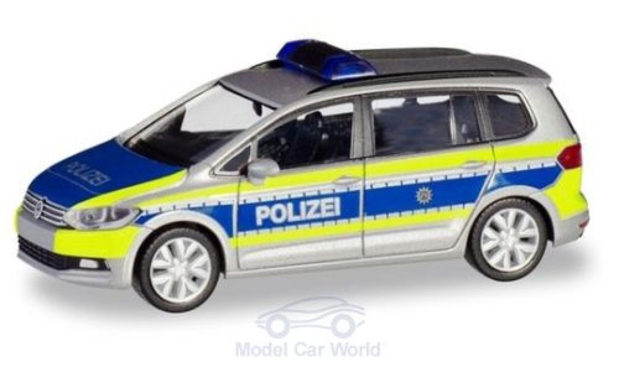 Volkswagen Touran 1/87 Herpa Polizei Nordrhein-Westfalen