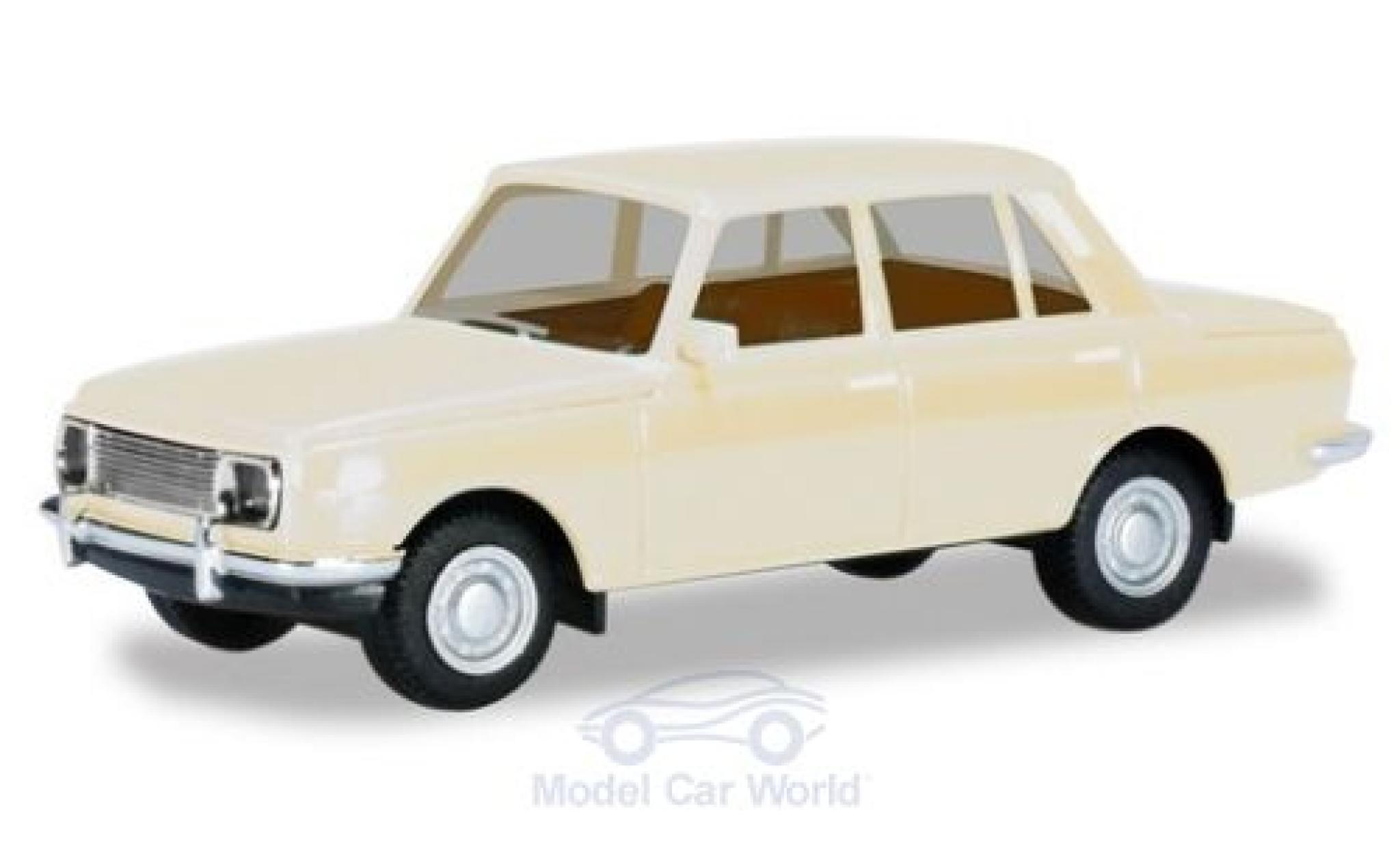 Wartburg 353 1/87 Herpa blanche 1966