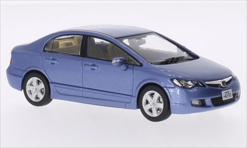 Honda Civic metallic-blue RHD 2006 MCW. Honda Civic metallic-blue RHD 2006 miniature 1/43