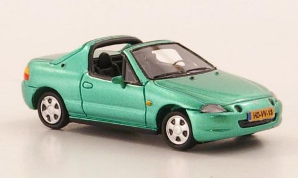 Honda CRX del Sol green limitierte Auflage 500 1992 MCW. Honda CRX del Sol green limitierte Auflage 500 1992 miniature 1/87